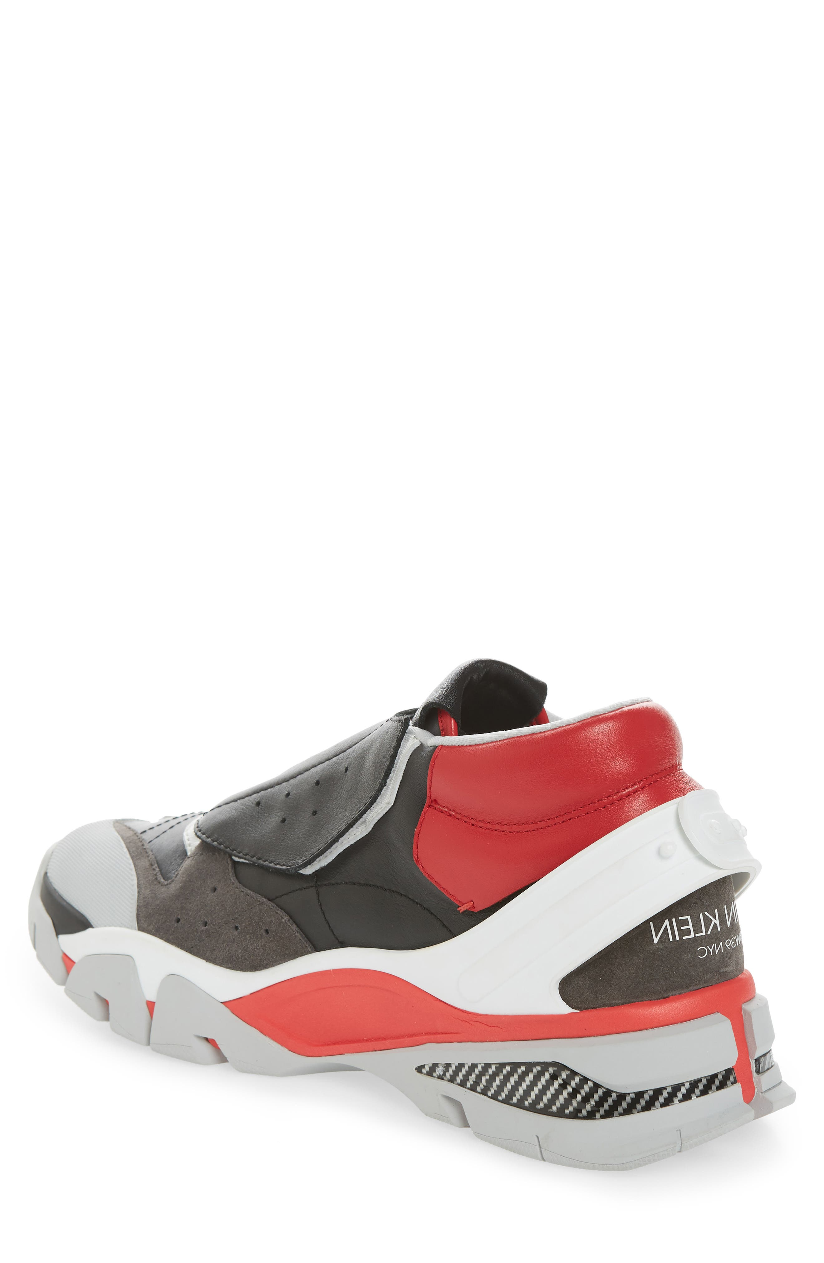 Cander 7 Sneaker,                             Alternate thumbnail 2, color,                             BLACK/ WHITE/ RED/ GREY