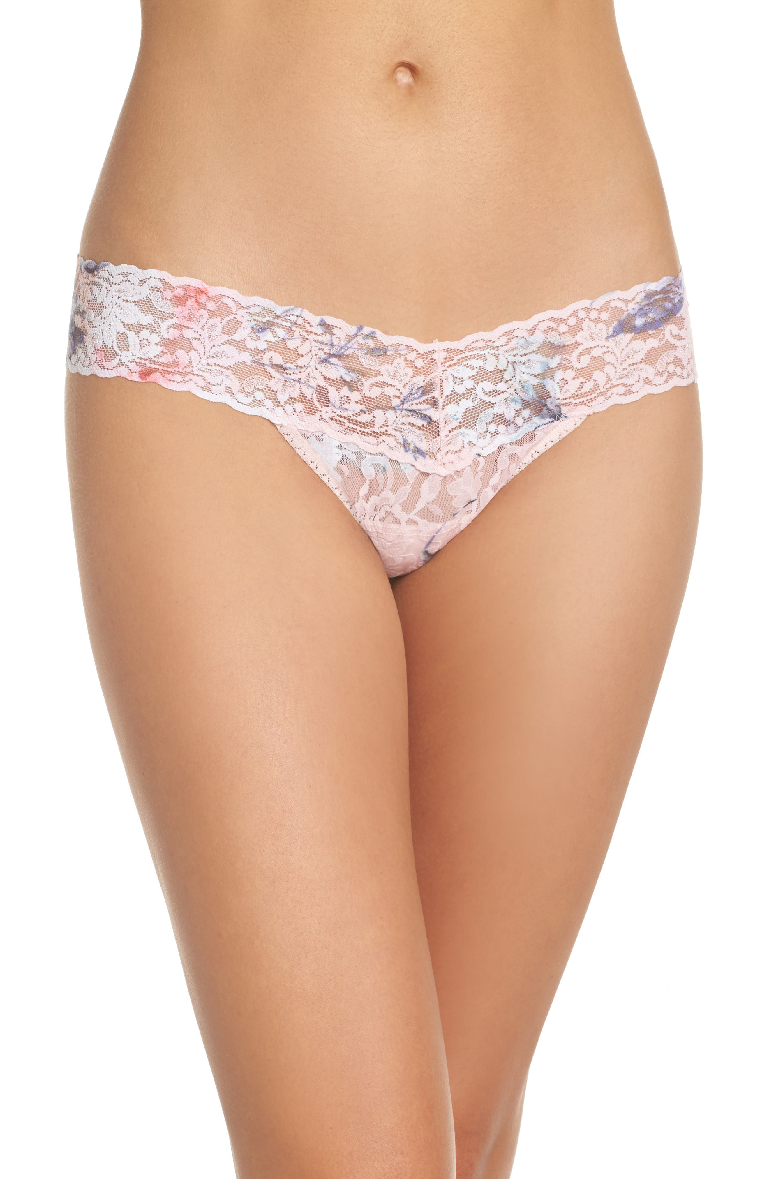 Print Low Rise Thong,                             Main thumbnail 13, color,