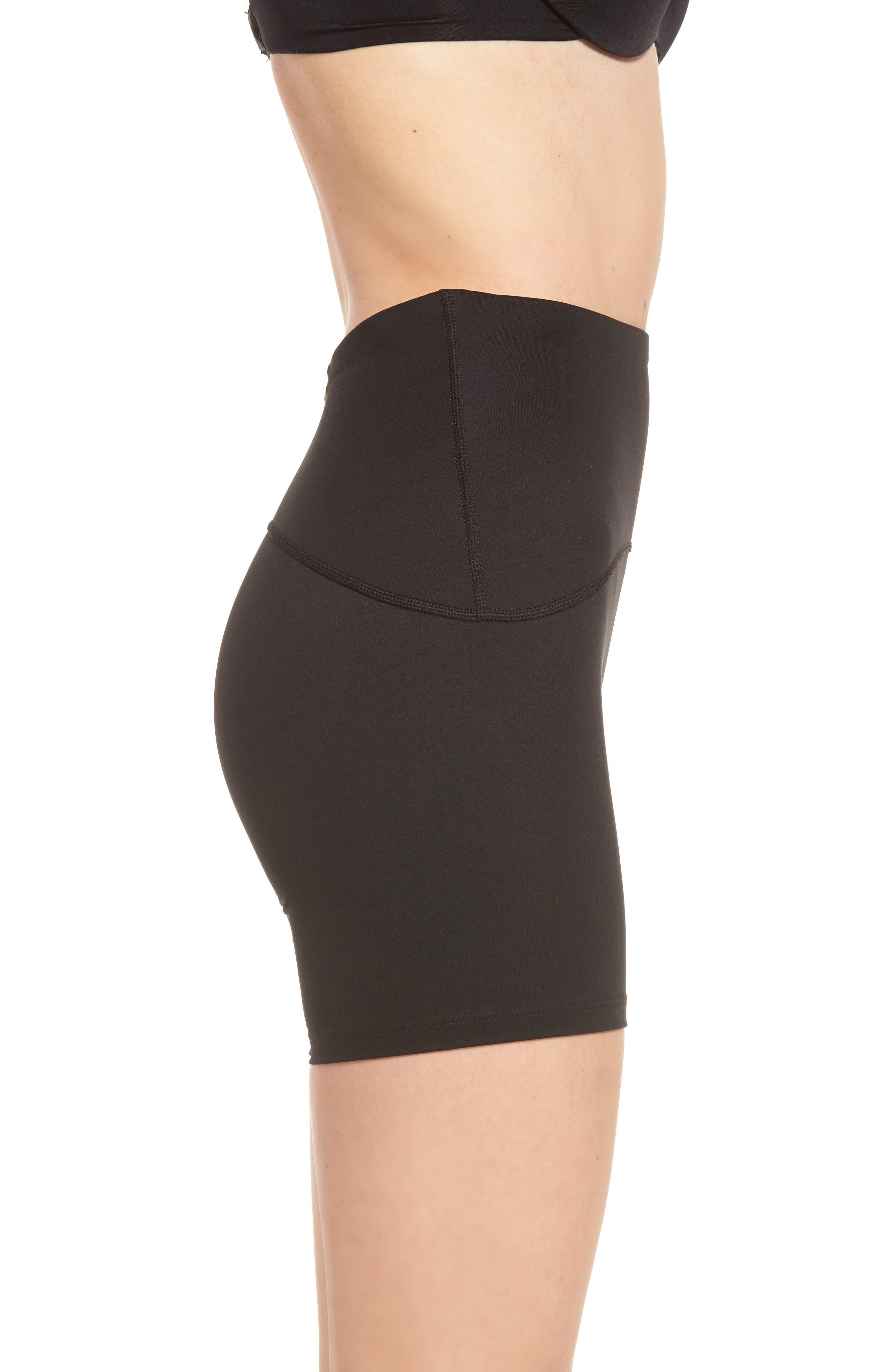 Sport Compression Shorts,                             Alternate thumbnail 3, color,                             BLACK
