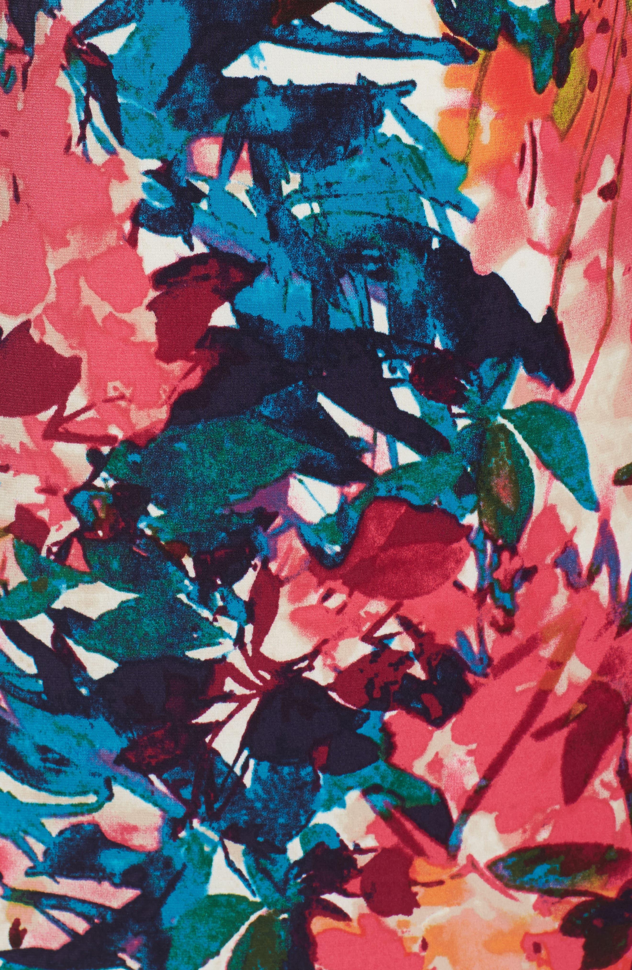 Midi Sheath Dress,                             Alternate thumbnail 5, color,                             692