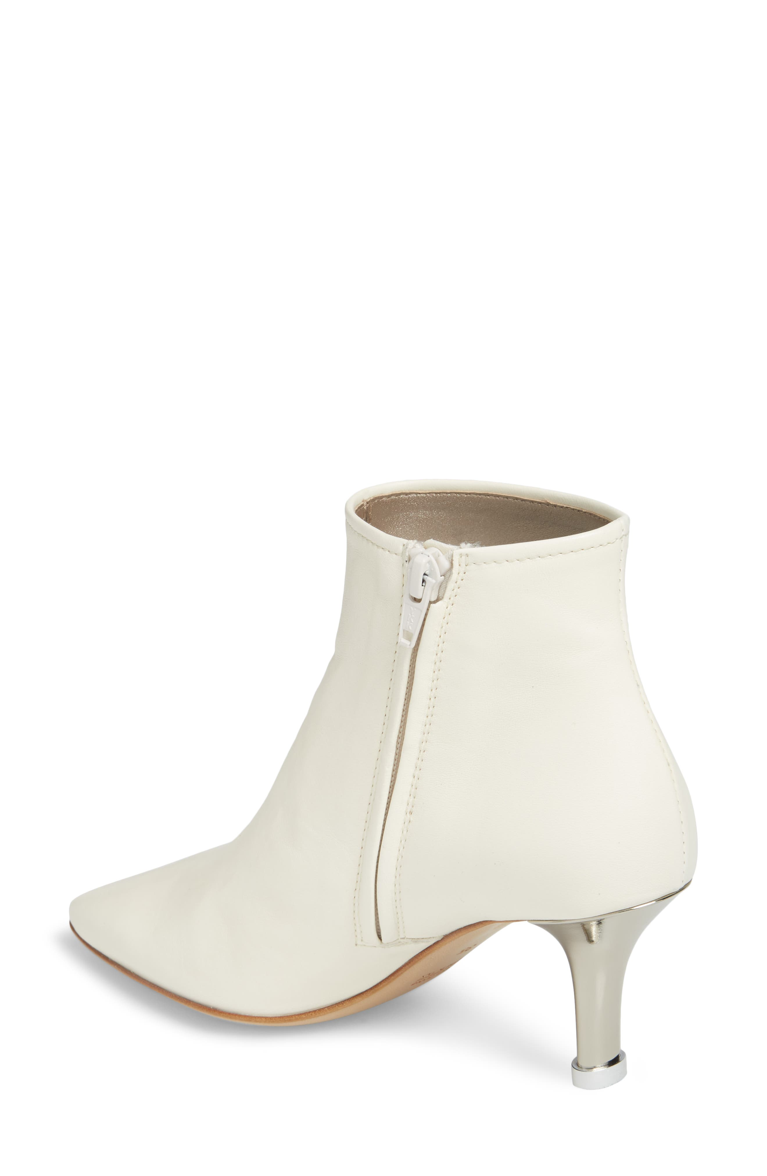 Summer Bootie,                             Alternate thumbnail 2, color,                             OFF WHITE LEATHER