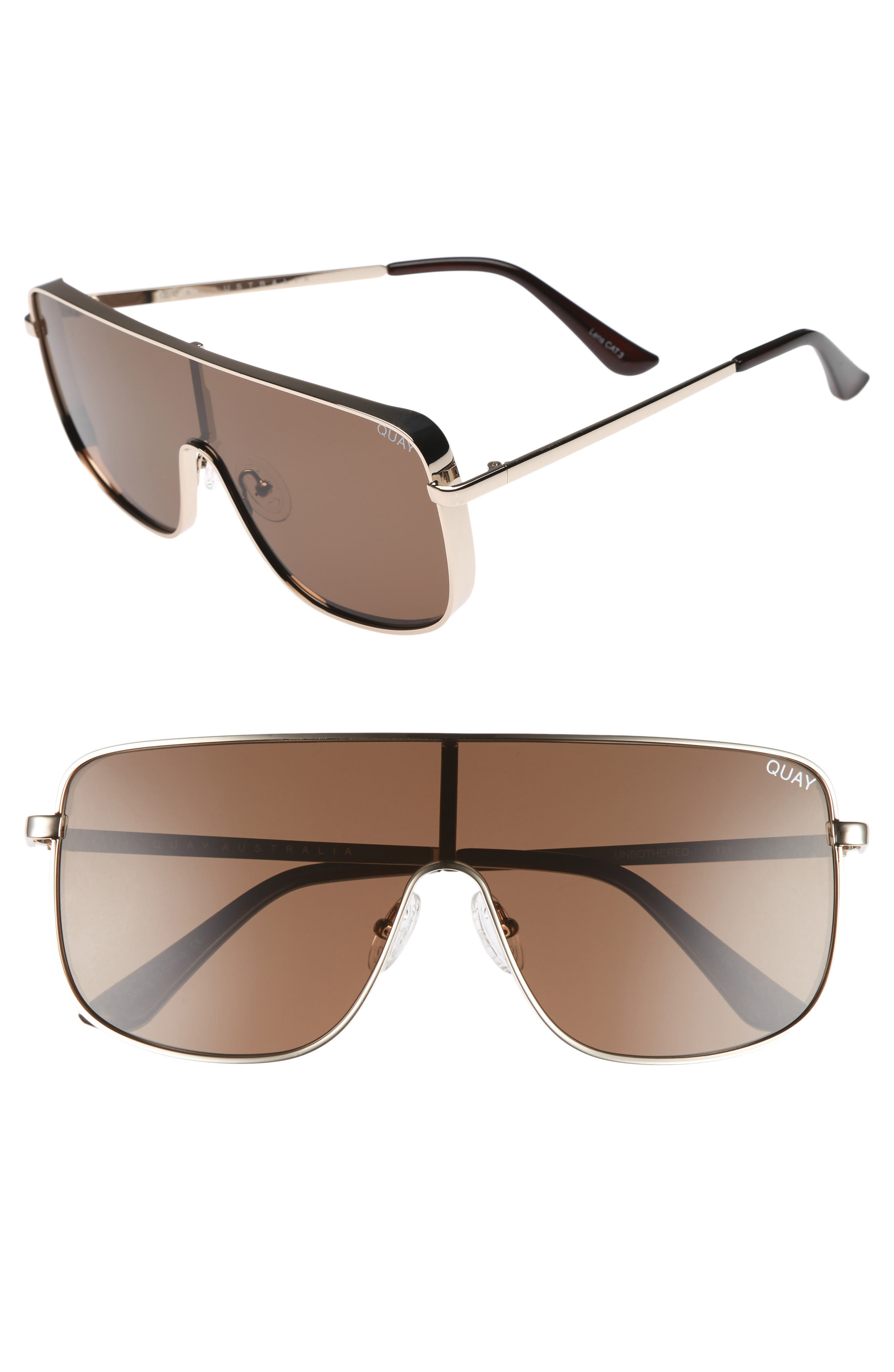 Unbothered 68mm Shield Sunglasses,                             Main thumbnail 2, color,