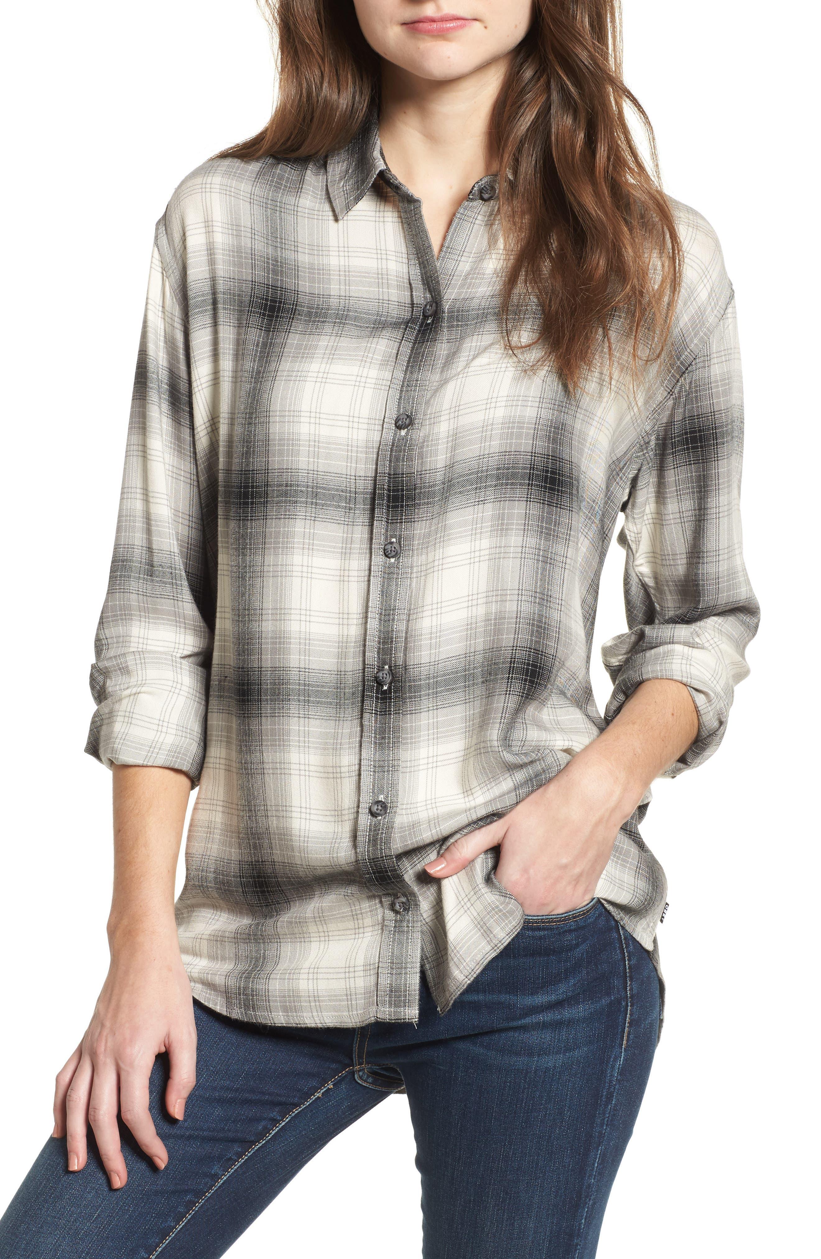 Sky Plaid Shirt,                         Main,                         color, 060
