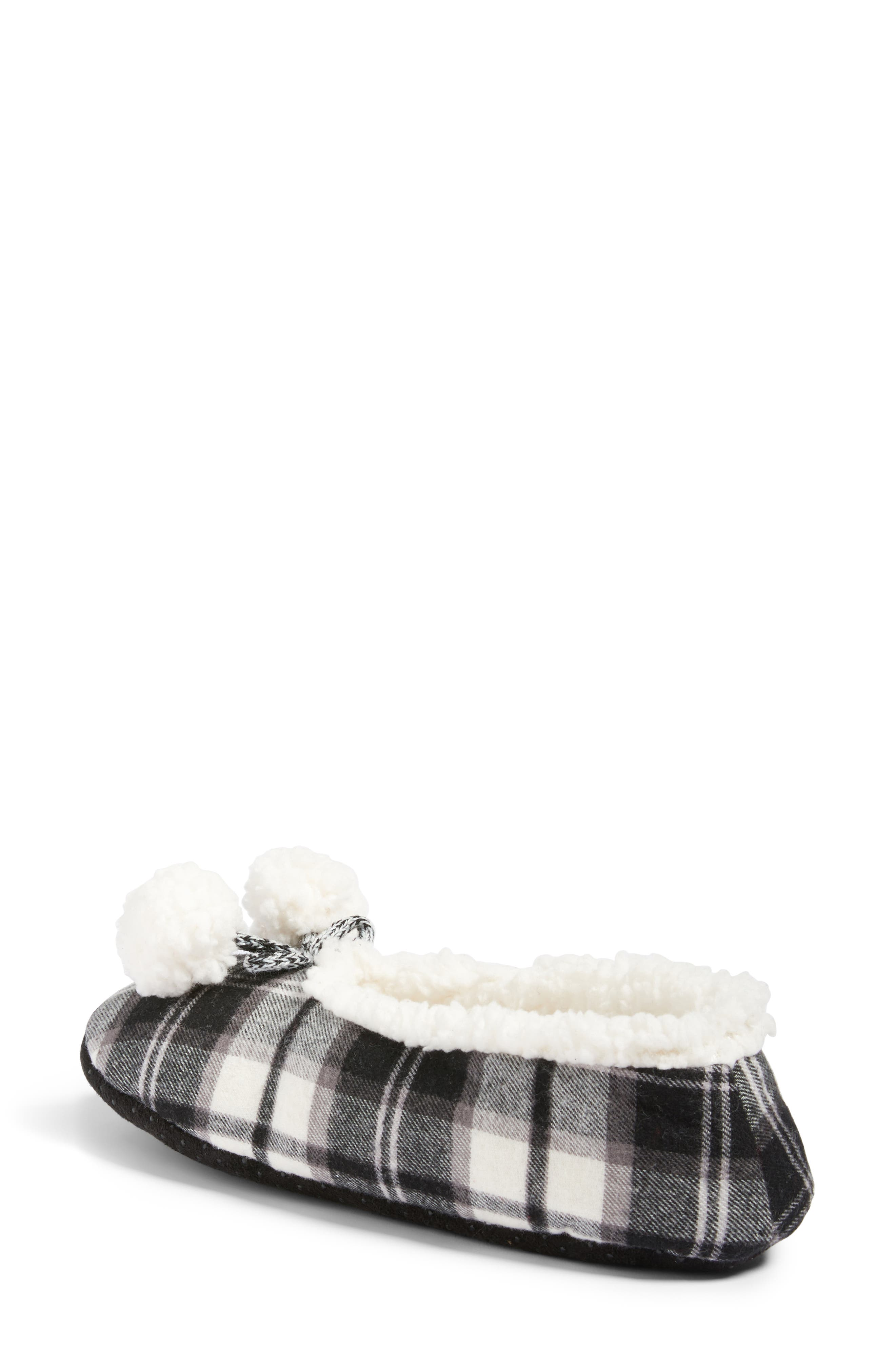 Plaid Slippers,                             Alternate thumbnail 2, color,                             002