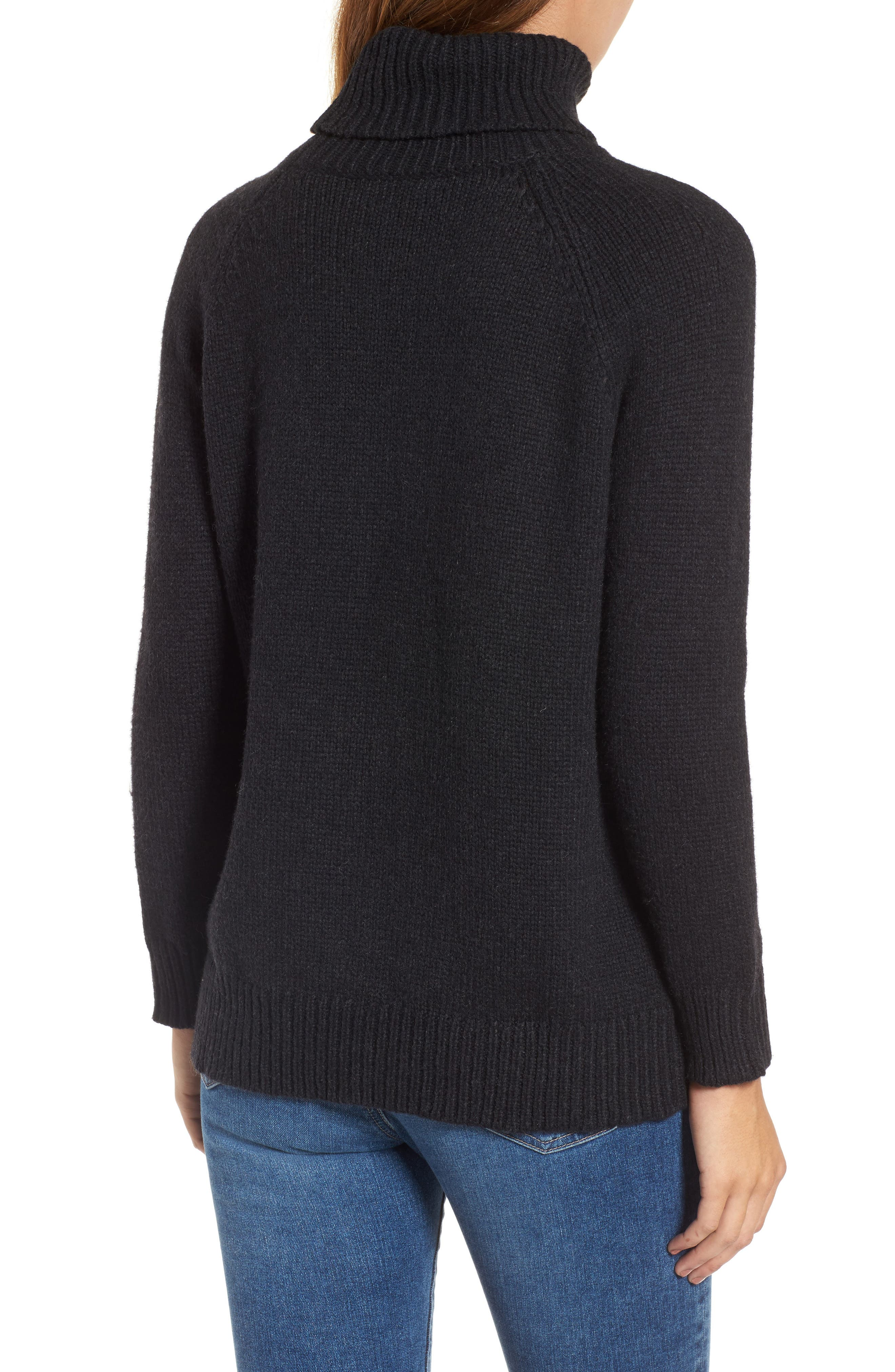 Textured Turtleneck Sweater,                             Alternate thumbnail 2, color,                             025