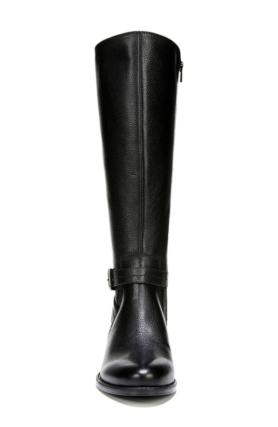 'Wynnie' Riding Boot,                             Alternate thumbnail 3, color,                             001