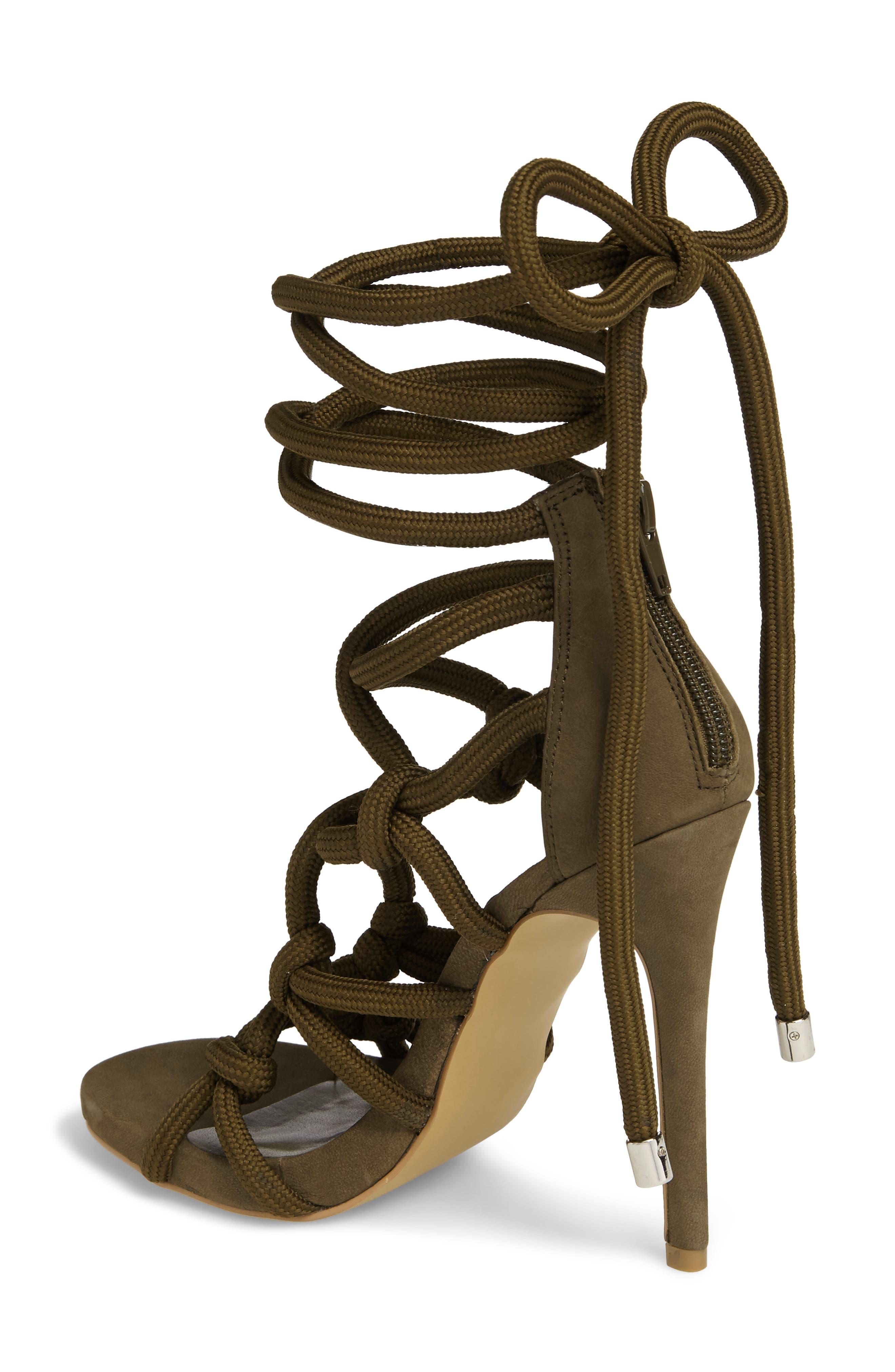 Dream Ankle Tie Sandal,                             Alternate thumbnail 6, color,