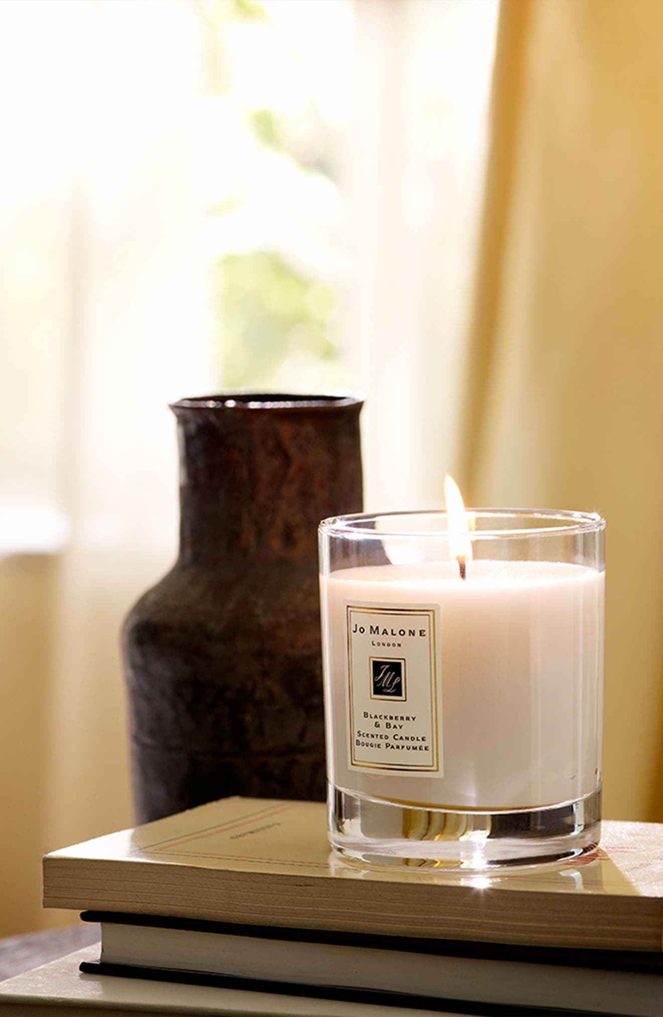 Jo Malone<sup>™</sup> Blackberry & Bay Scented Home Candle,                             Alternate thumbnail 7, color,                             NO COLOR