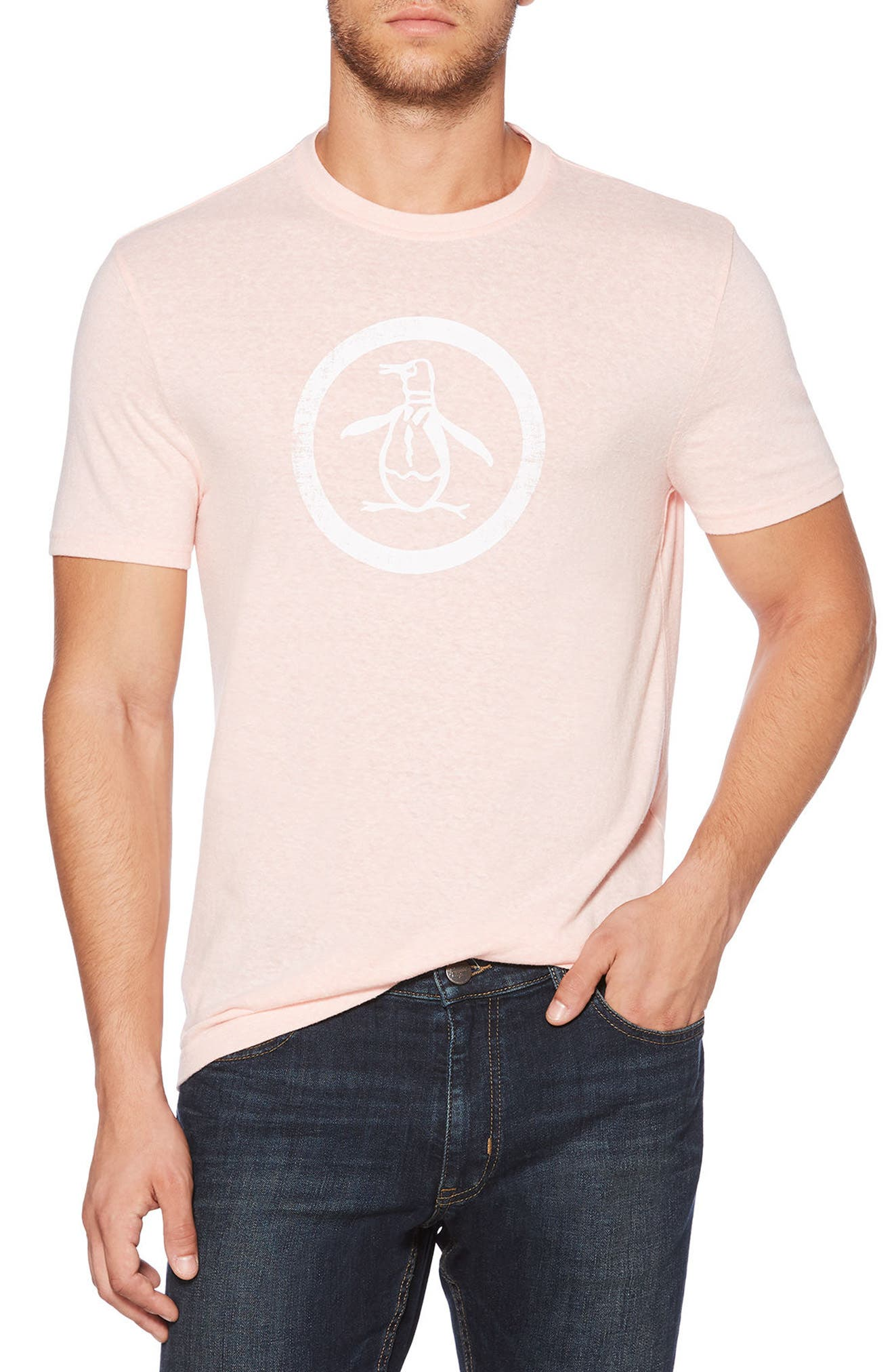 Circle Logo T-Shirt,                             Main thumbnail 5, color,