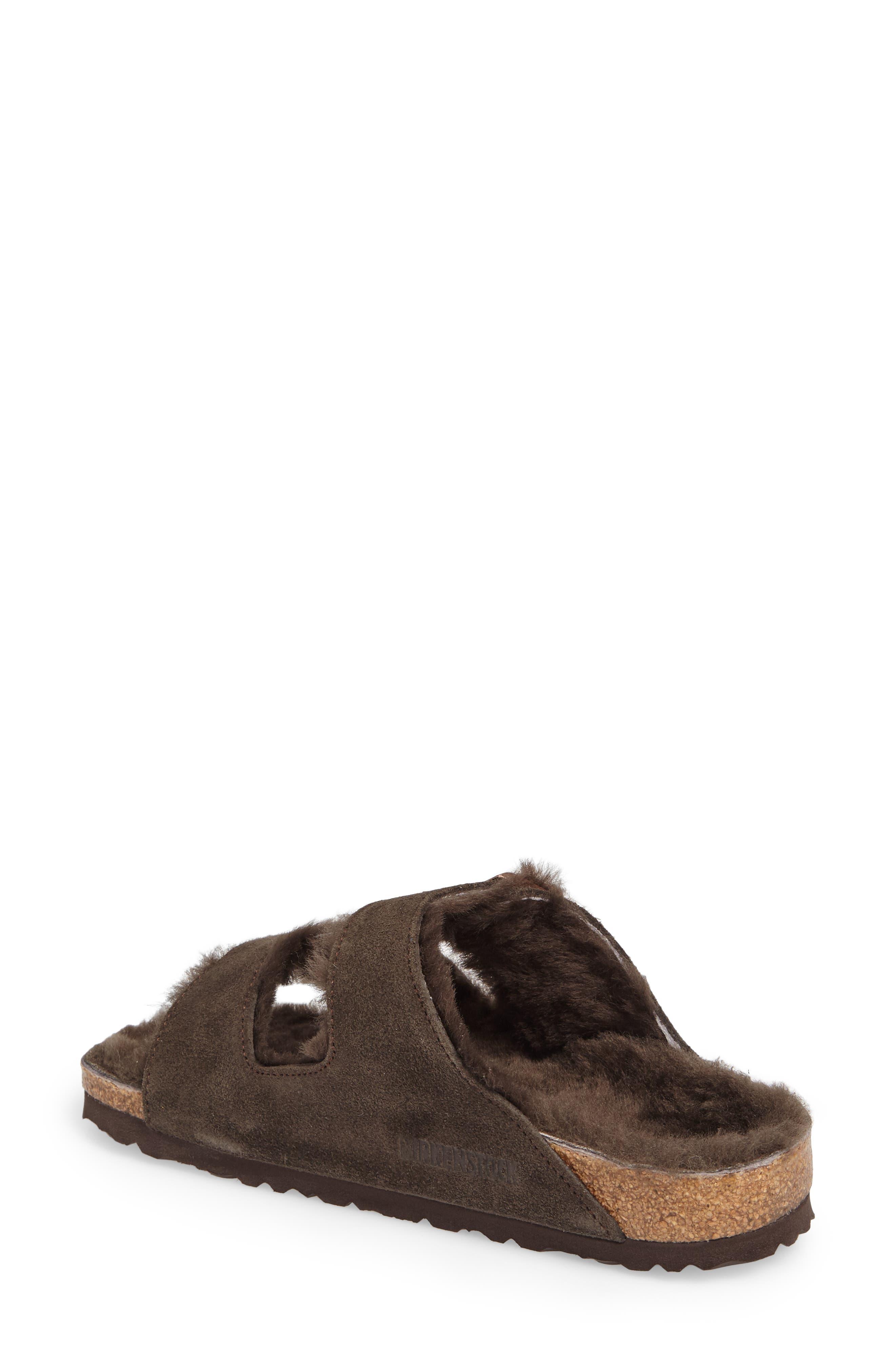 Arizona Genuine Shearling Lined Sandal,                             Alternate thumbnail 2, color,                             200