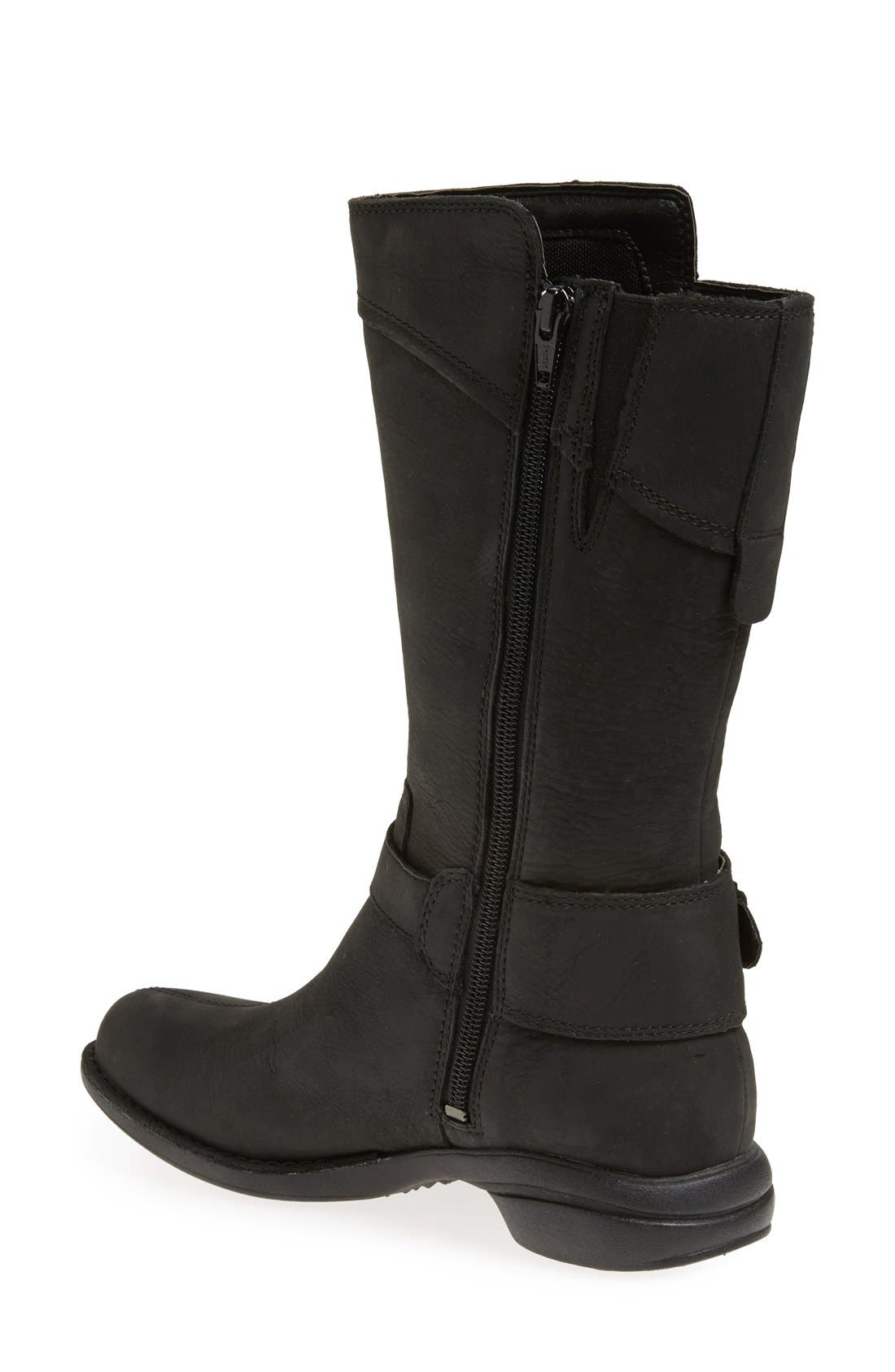 'Captiva Buckle Down' Boot,                             Alternate thumbnail 2, color,                             001