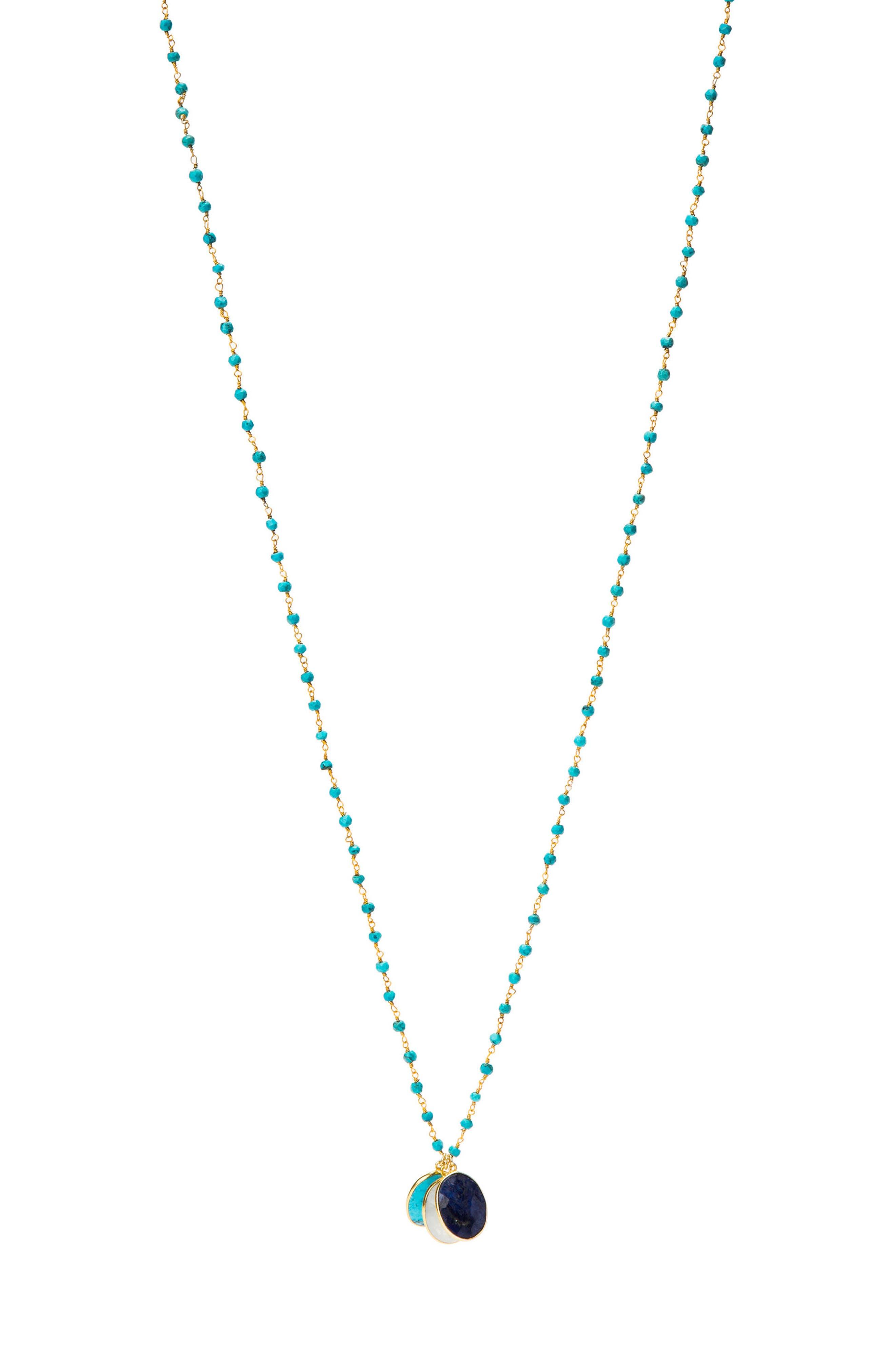 Grenada Long Pendant Necklace,                             Main thumbnail 4, color,