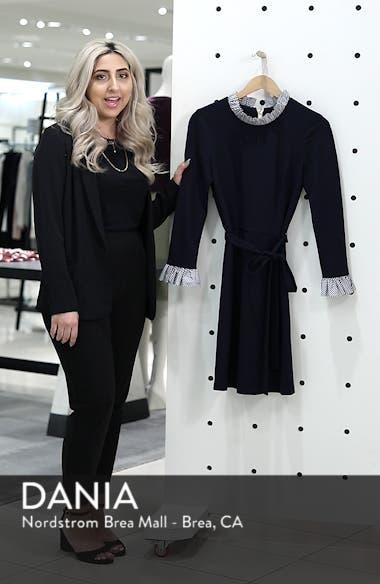 Long Sleeve Ruffle Detail Shirtdress, sales video thumbnail