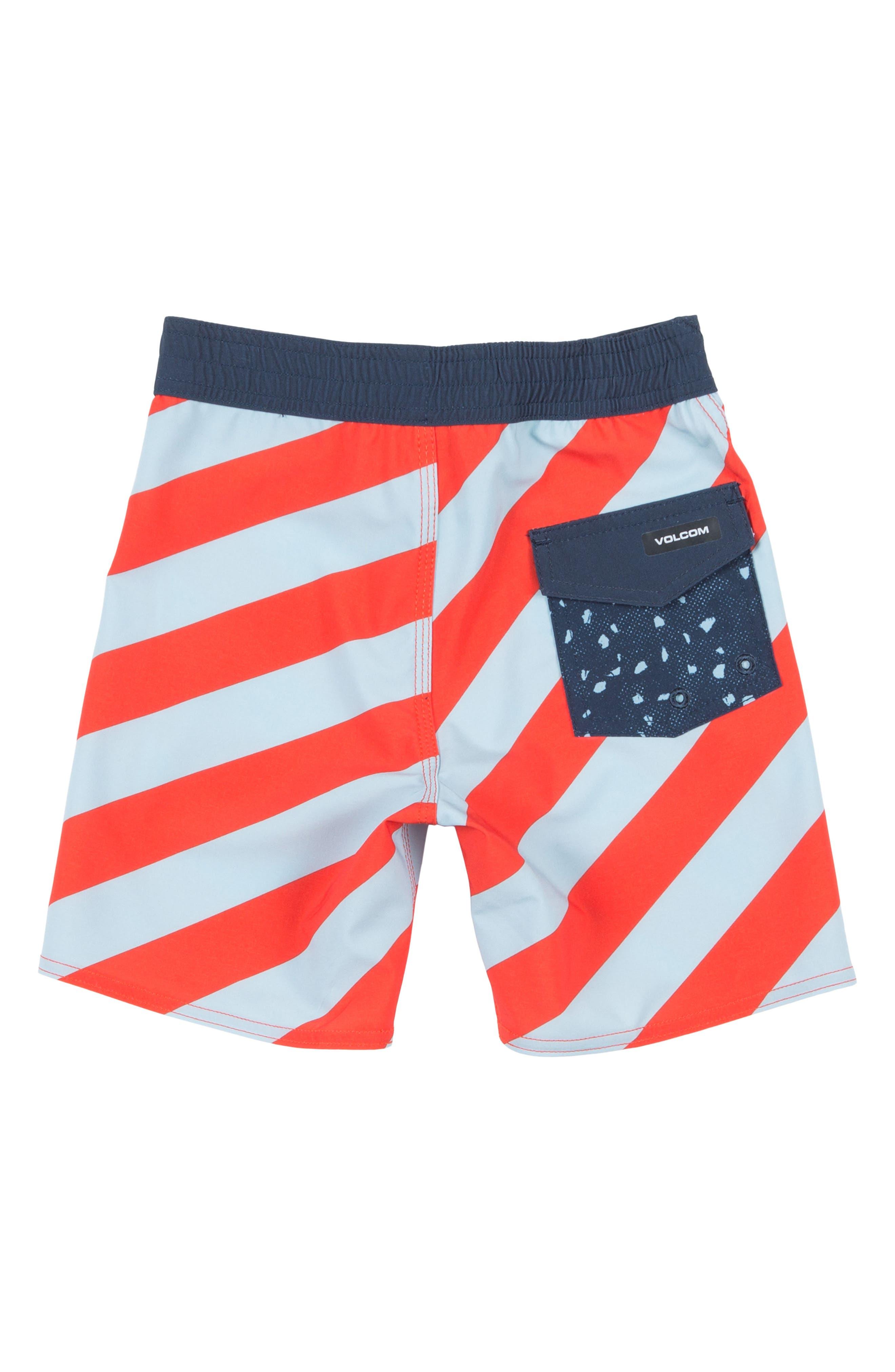 Stripey Jammer Board Shorts,                             Main thumbnail 1, color,