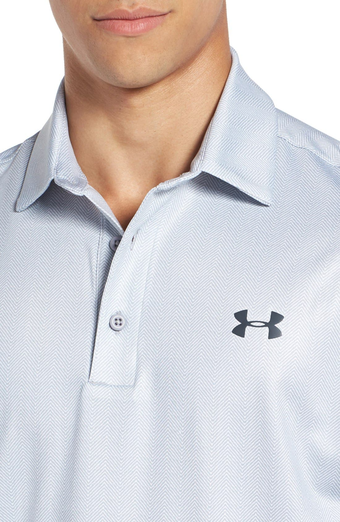 'Playoff' Loose Fit Short Sleeve Polo,                             Alternate thumbnail 76, color,