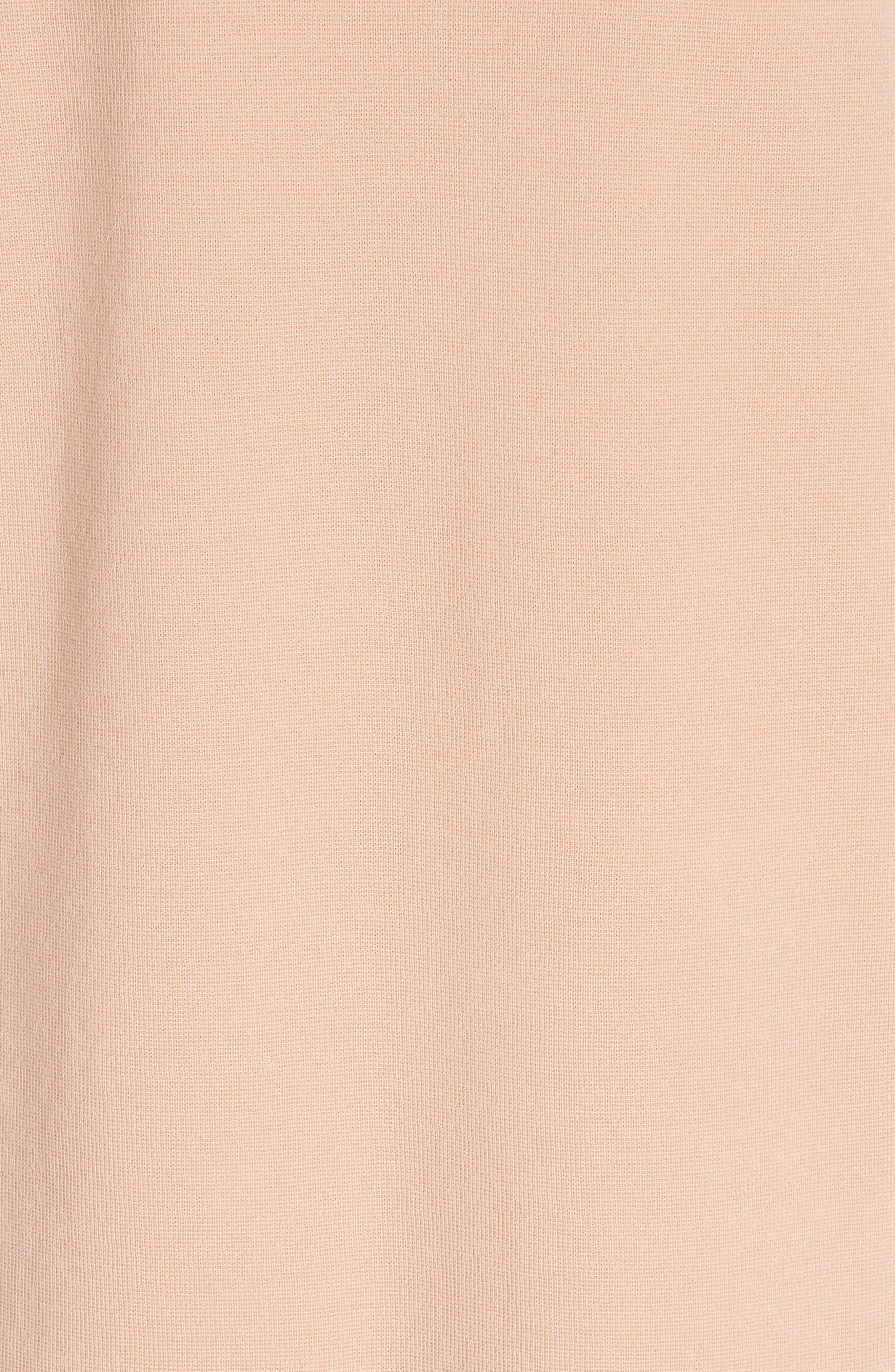 Jonah Jacquard Front Sweater Dress,                             Alternate thumbnail 6, color,                             ALABASTER