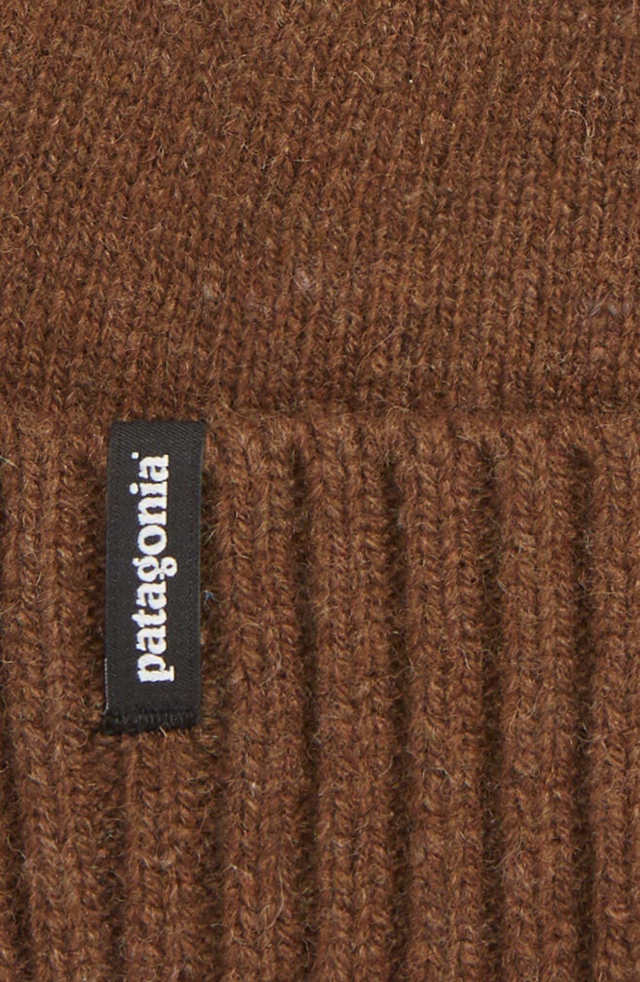 Brodeo Wool Stocking Cap,                             Alternate thumbnail 2, color,                             TIMBER BROWN