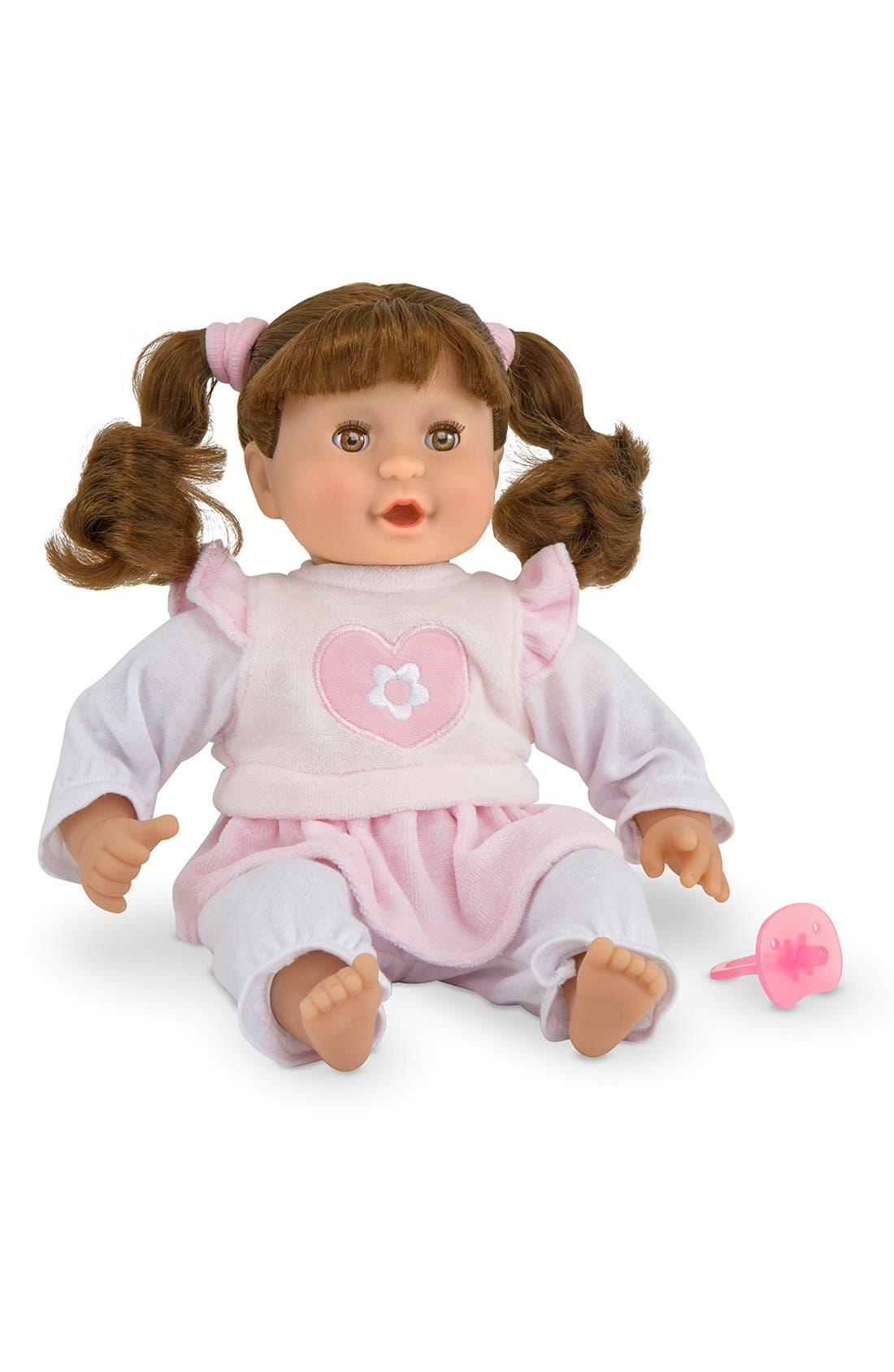 MELISSA & DOUG 'Mine to Love - Brianna' Doll, Main, color, PINK