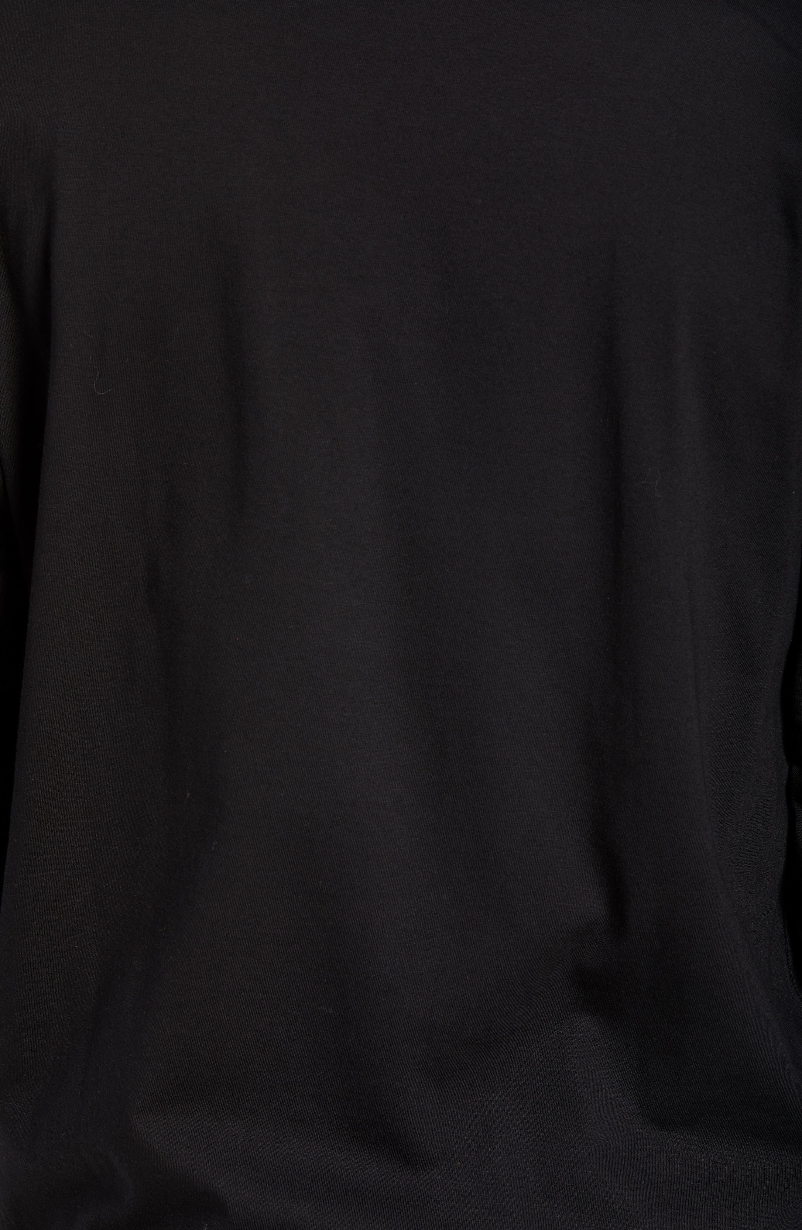 Long Sleeve 1989 T-Shirt,                             Alternate thumbnail 5, color,                             BLACK / WHITE