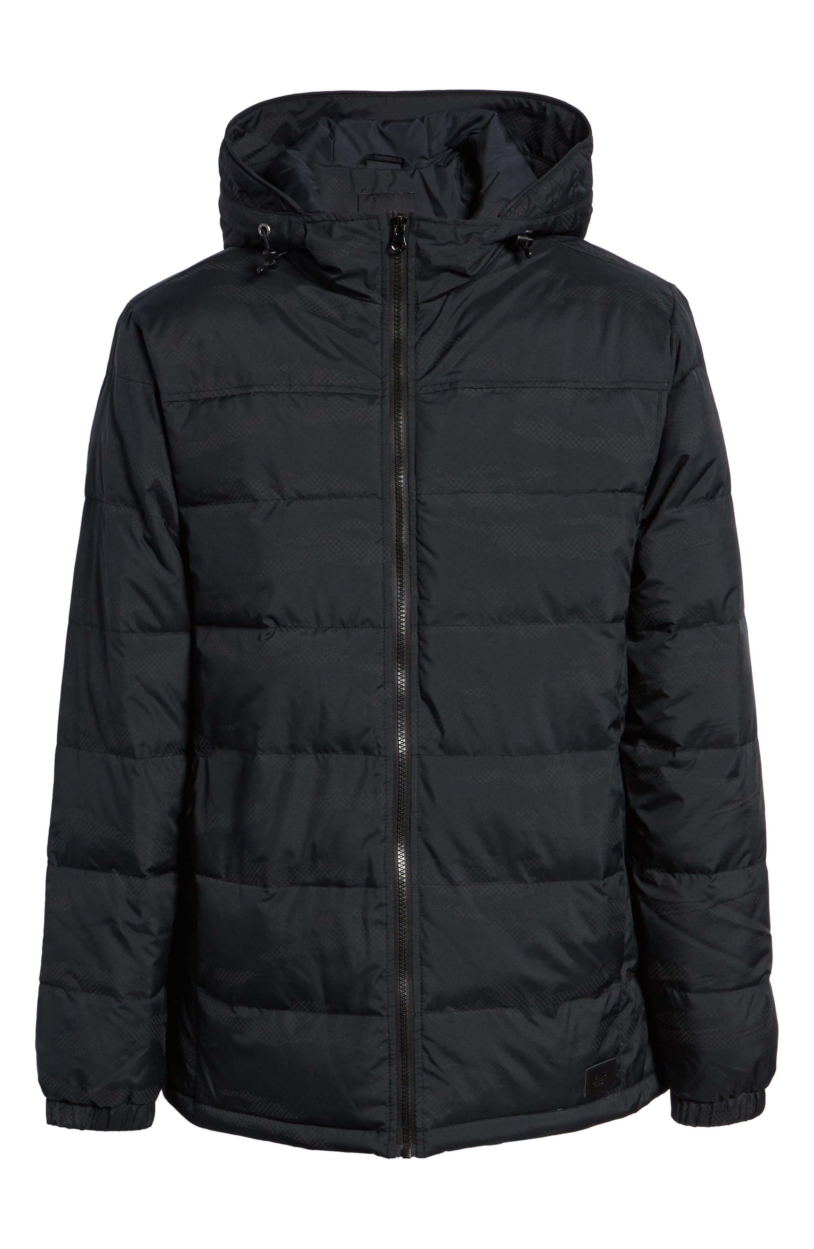 Woodcrest MTE Jacket,                             Alternate thumbnail 6, color,                             BLACK REFLECTIVE