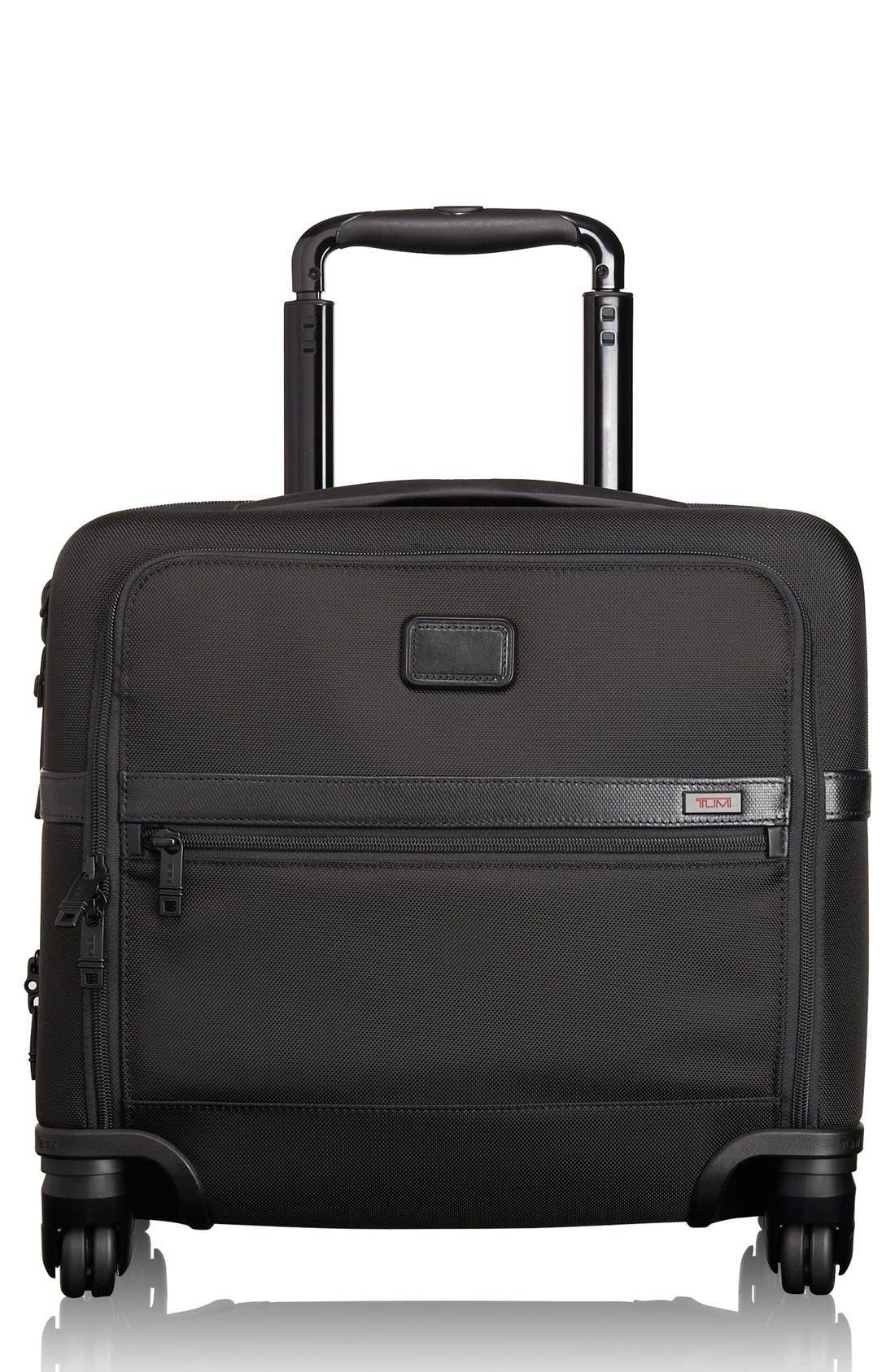 Alpha 2 Expandable Wheeled Briefcase,                         Main,                         color, 001