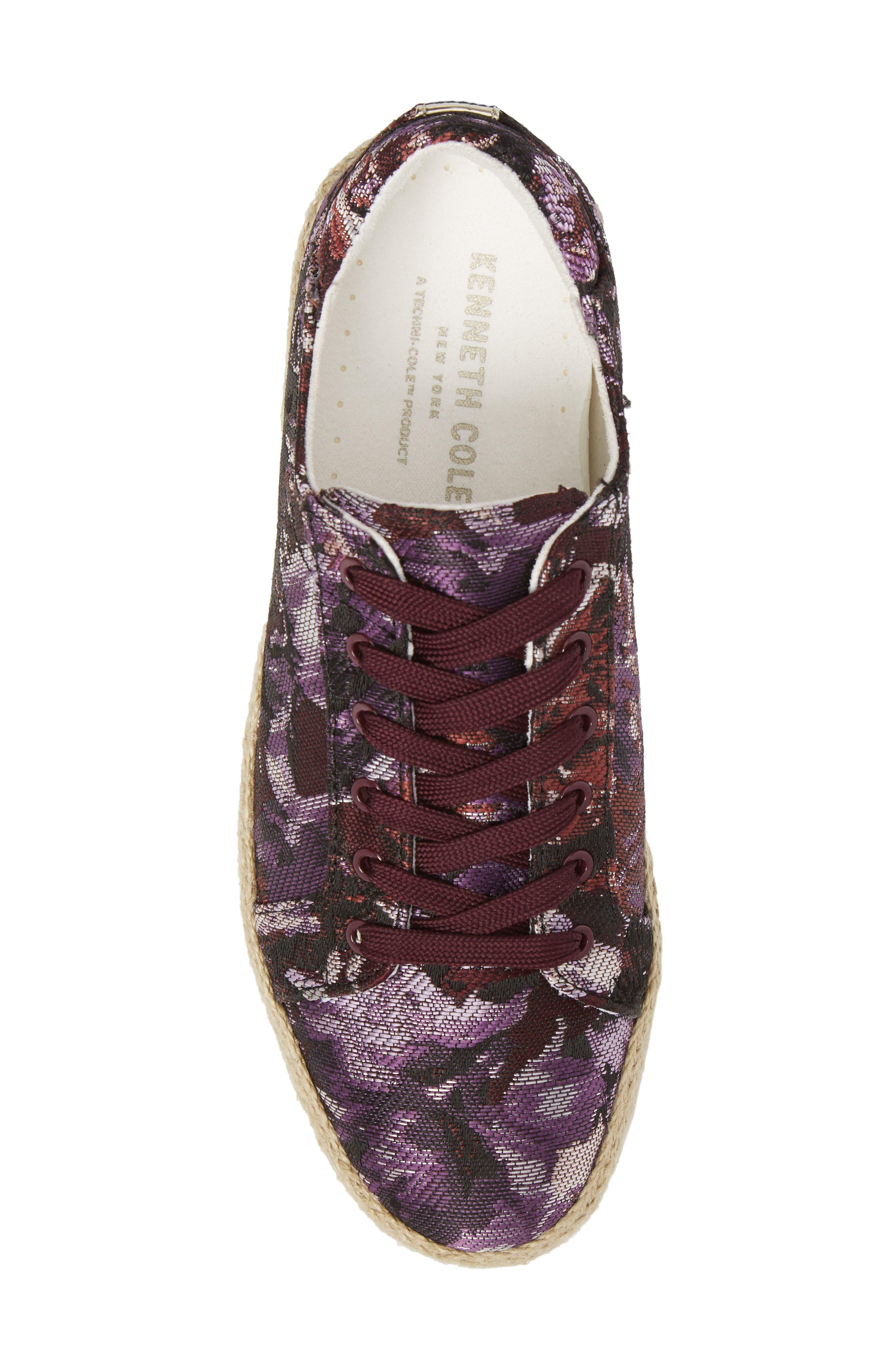 Allyson Espadrille Platform Sneaker,                             Alternate thumbnail 20, color,