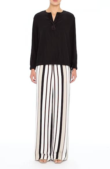 Allen Legacy Stripe Drape Cloth Pants, video thumbnail