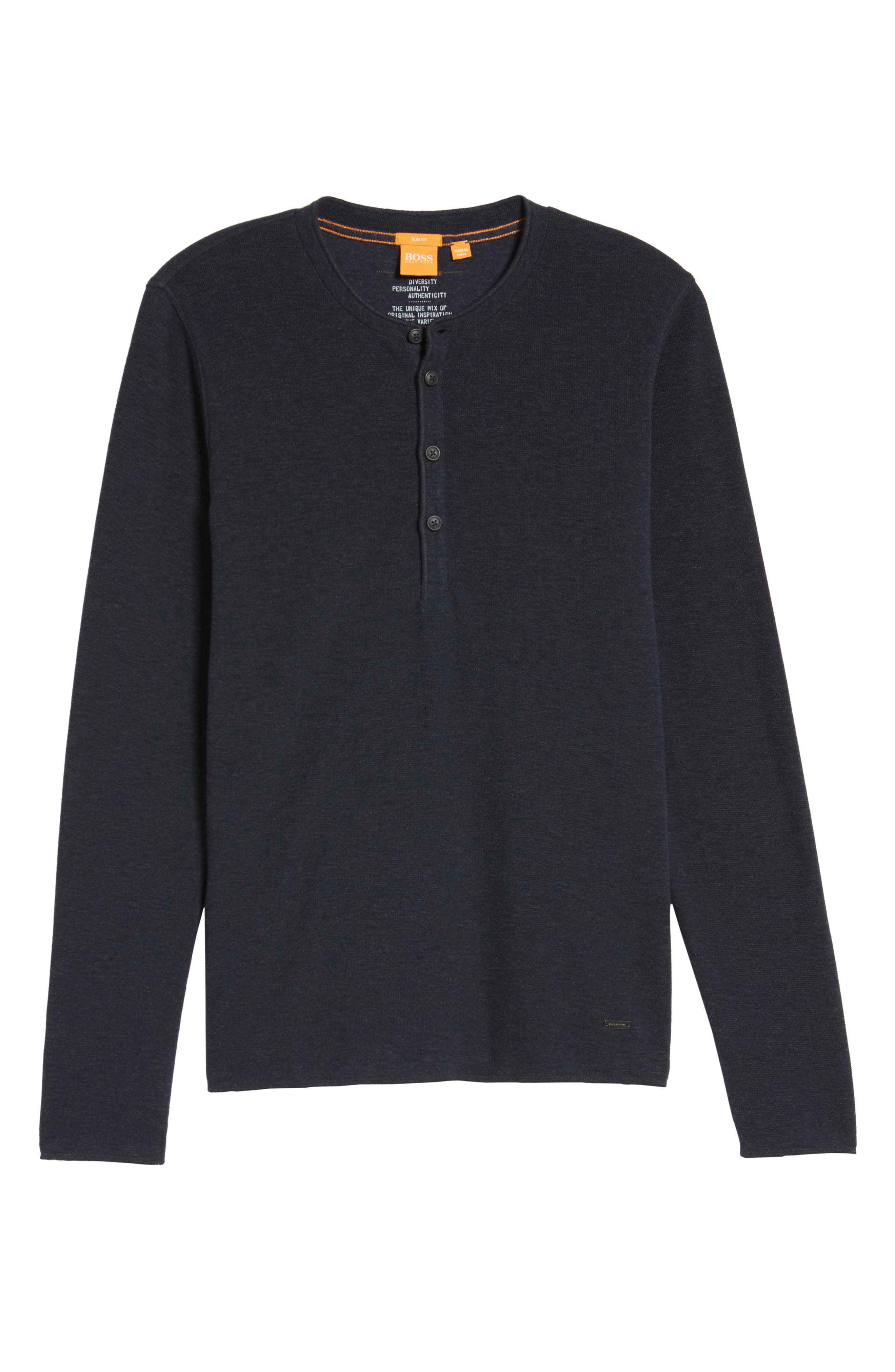 Topsider Thermal Henley,                             Alternate thumbnail 24, color,