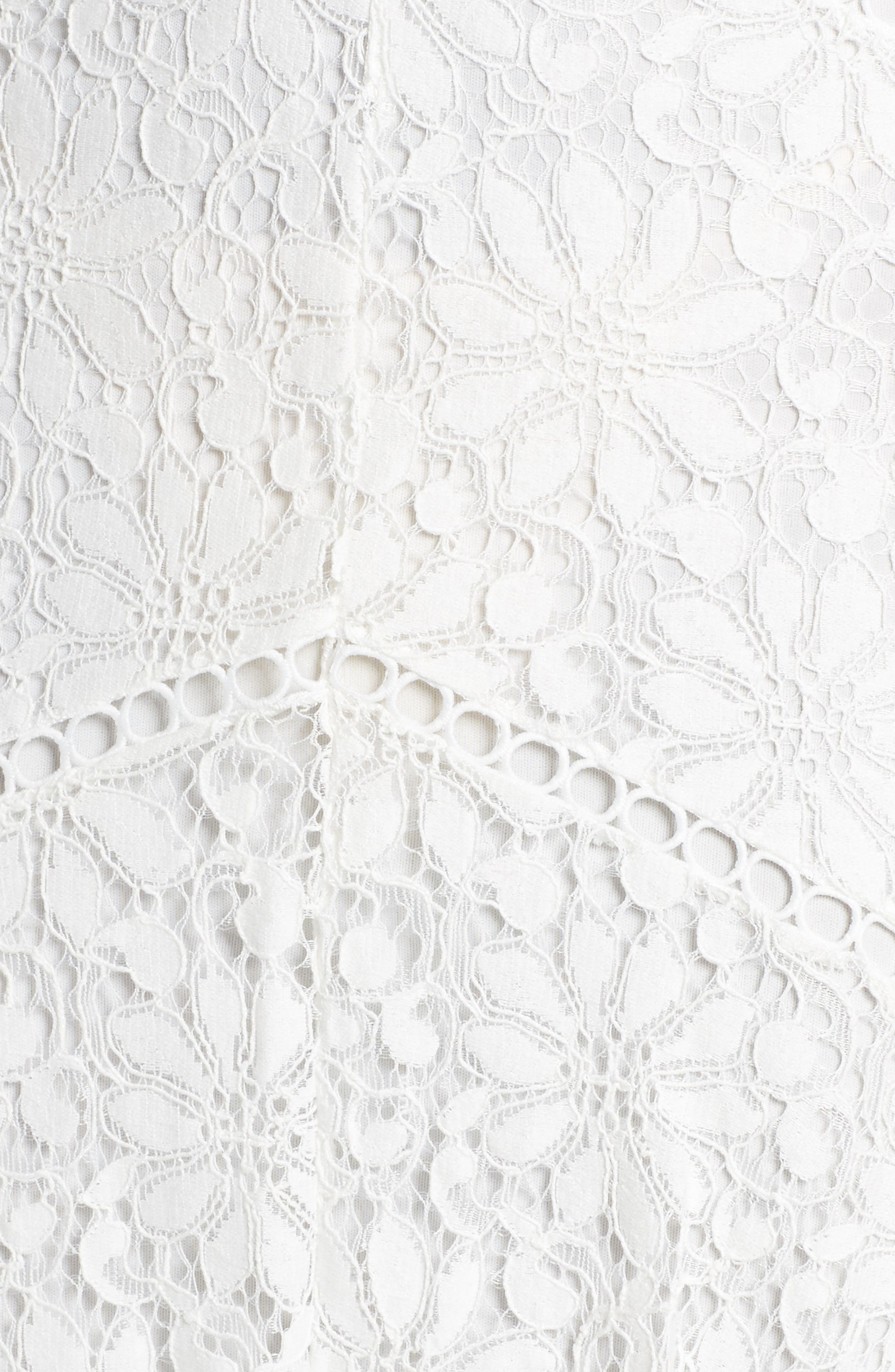 Lace Midi Dress,                             Alternate thumbnail 5, color,                             902