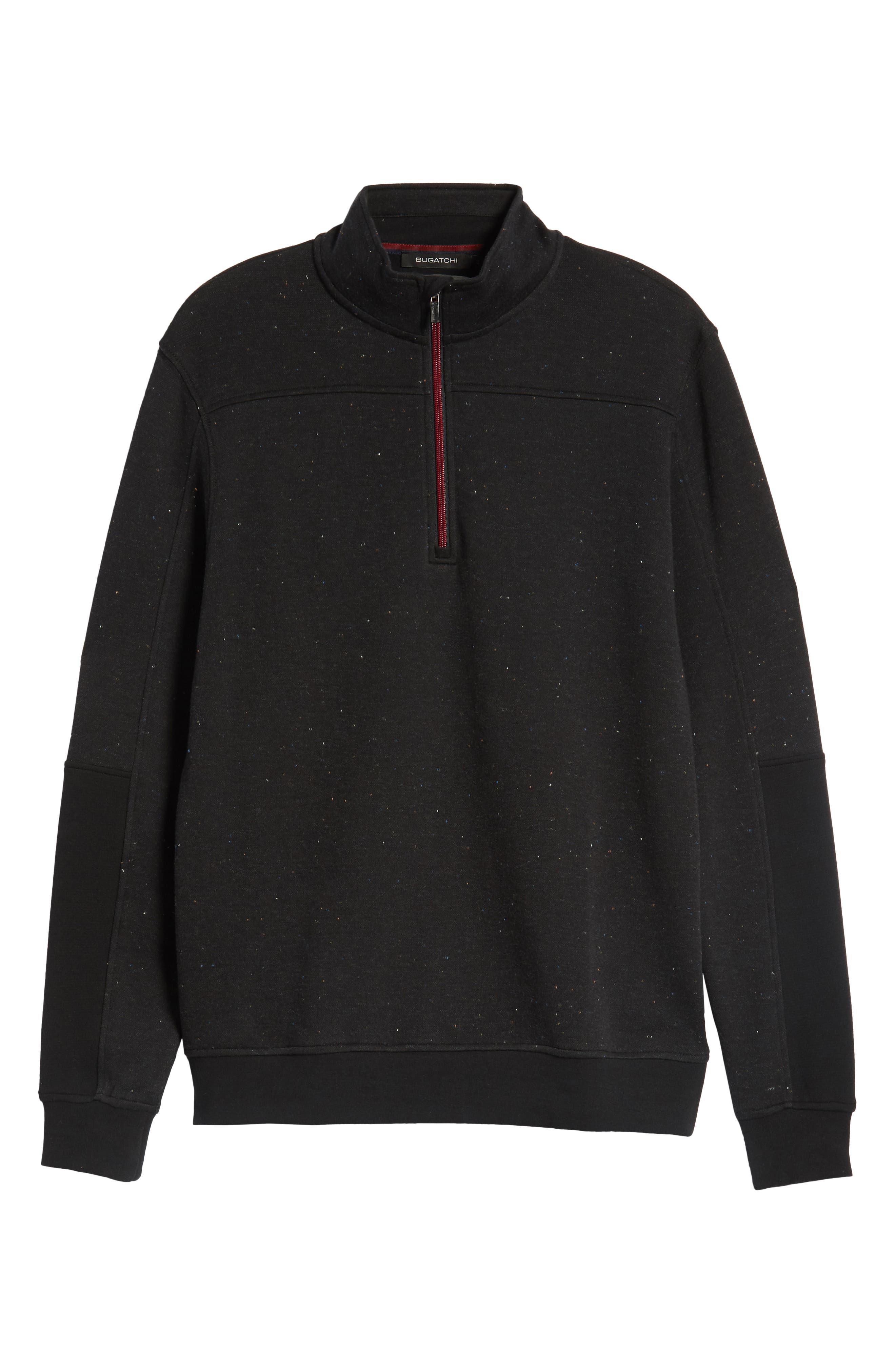 Regular Fit Pullover Sweatshirt,                             Alternate thumbnail 6, color,                             NAVY