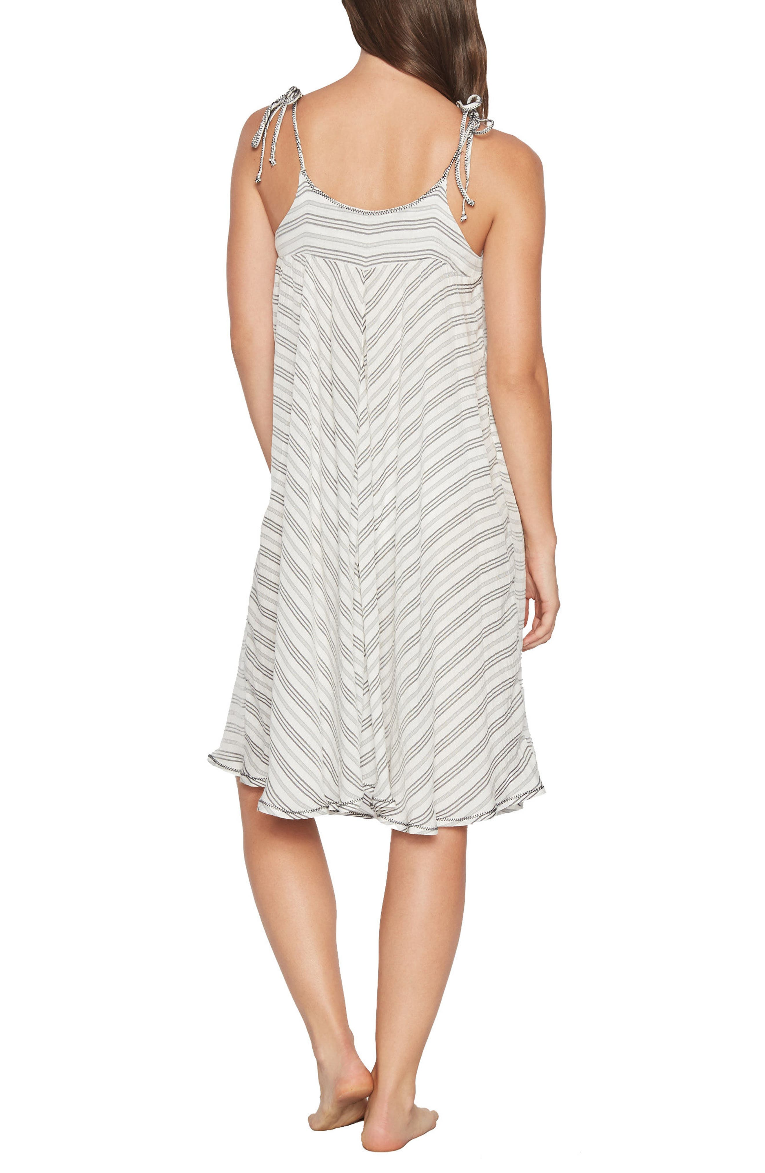 Norah Stripe Cover-Up Dress,                             Alternate thumbnail 2, color,                             023
