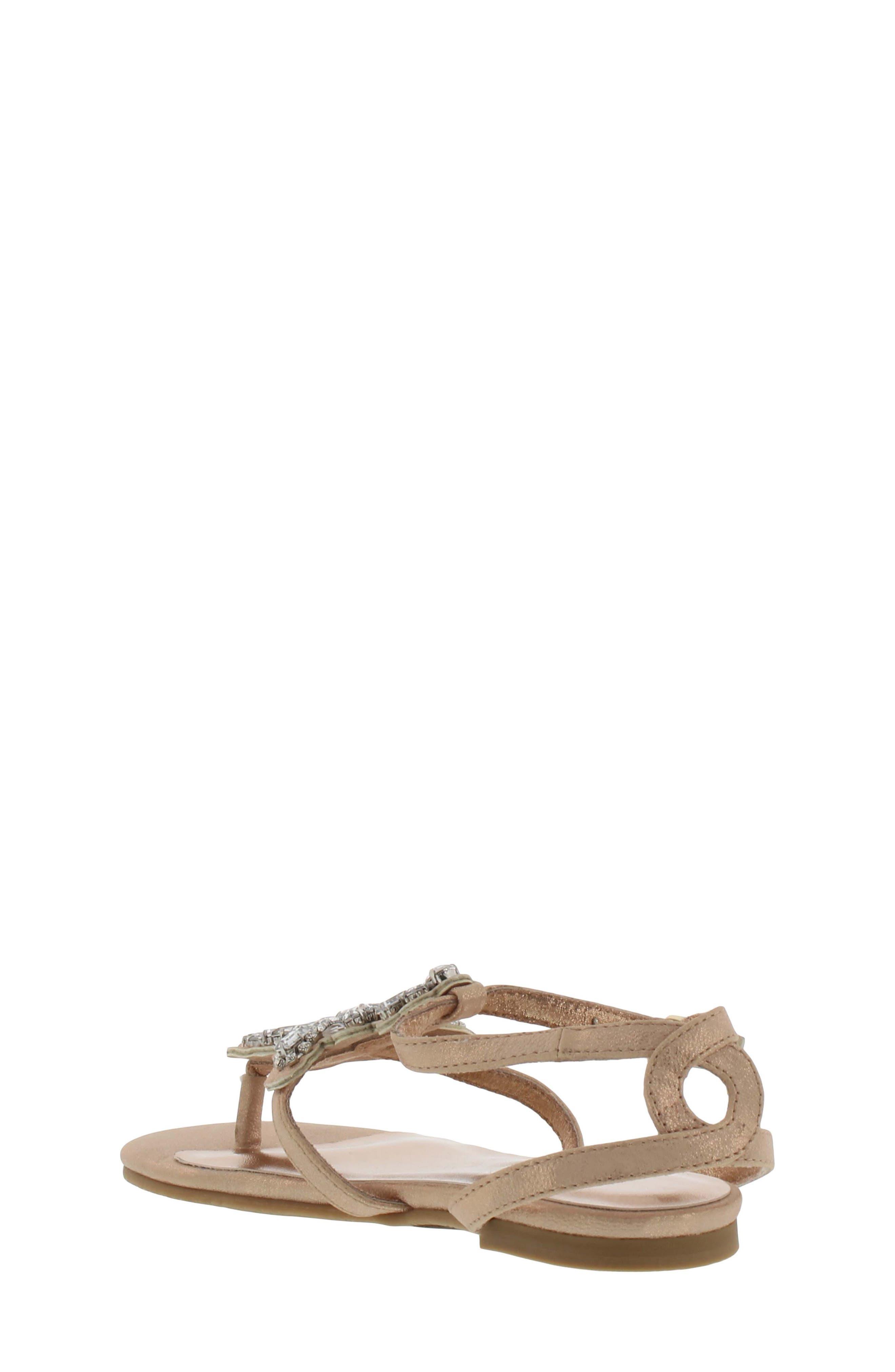 Cara Barstow Embellished Sandal,                             Alternate thumbnail 4, color,