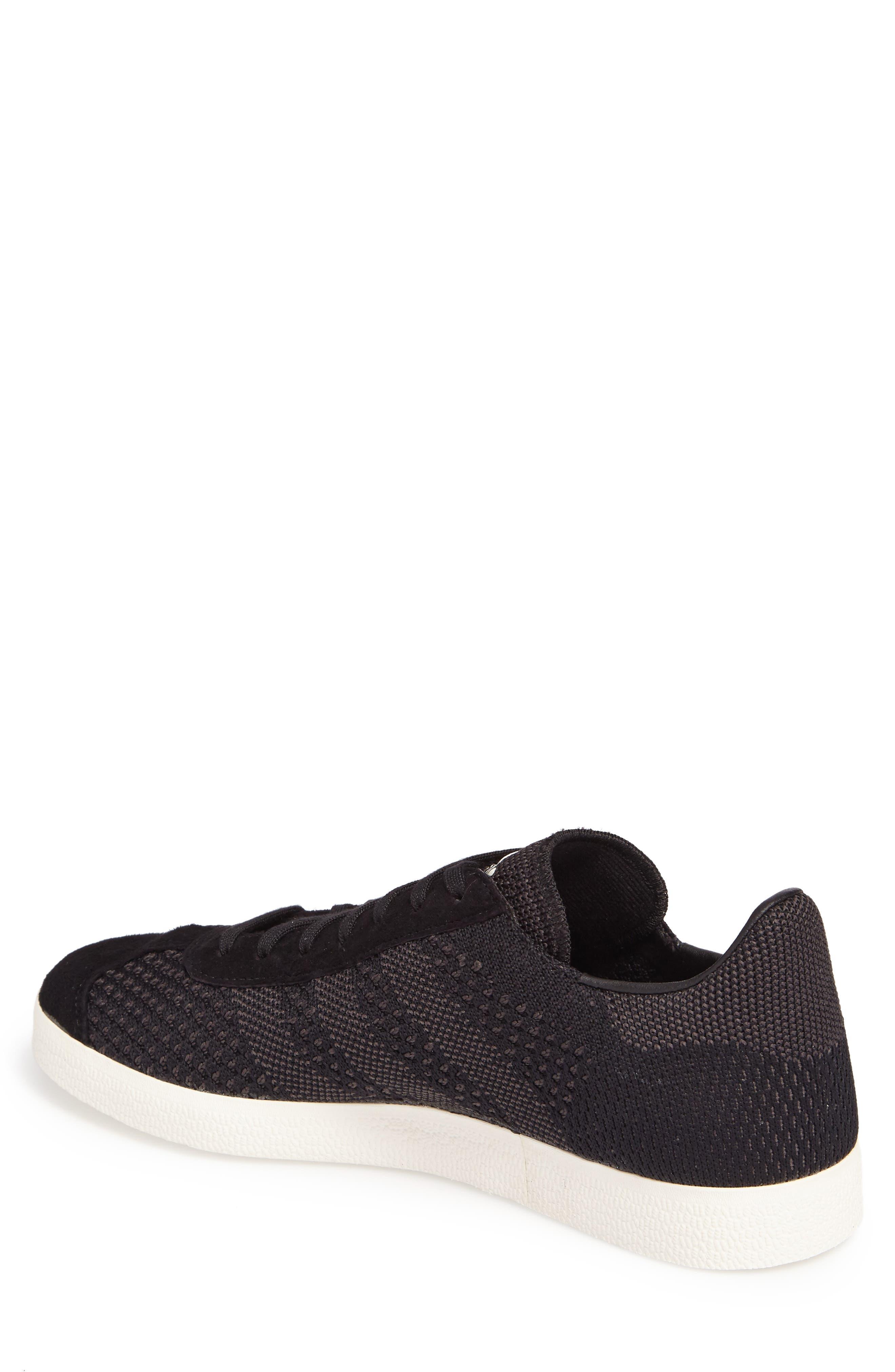 Gazelle Primeknit Sneaker,                             Alternate thumbnail 2, color,                             001