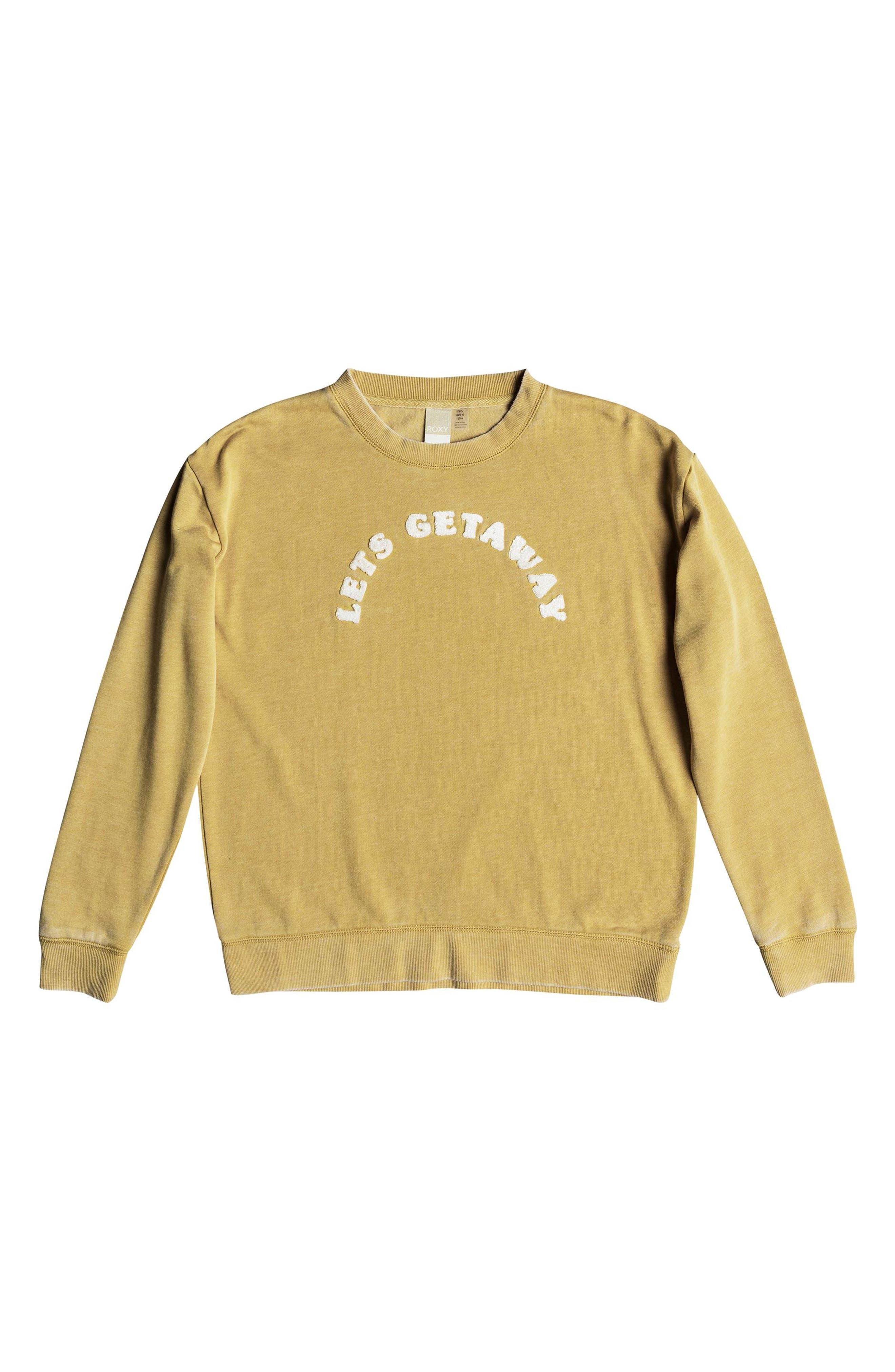 All At Sea Sweatshirt,                             Alternate thumbnail 3, color,                             FALL LEAF
