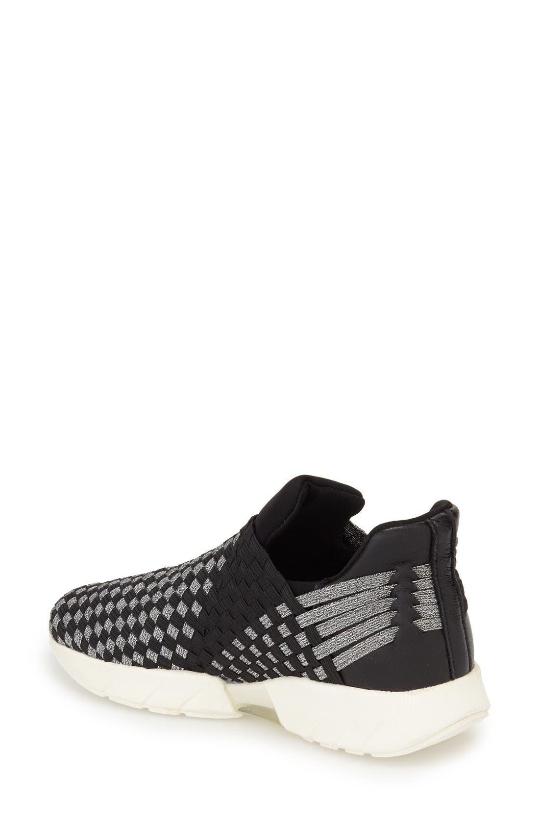 'Razer' Woven Slip-On Sneaker,                             Alternate thumbnail 2, color,                             014