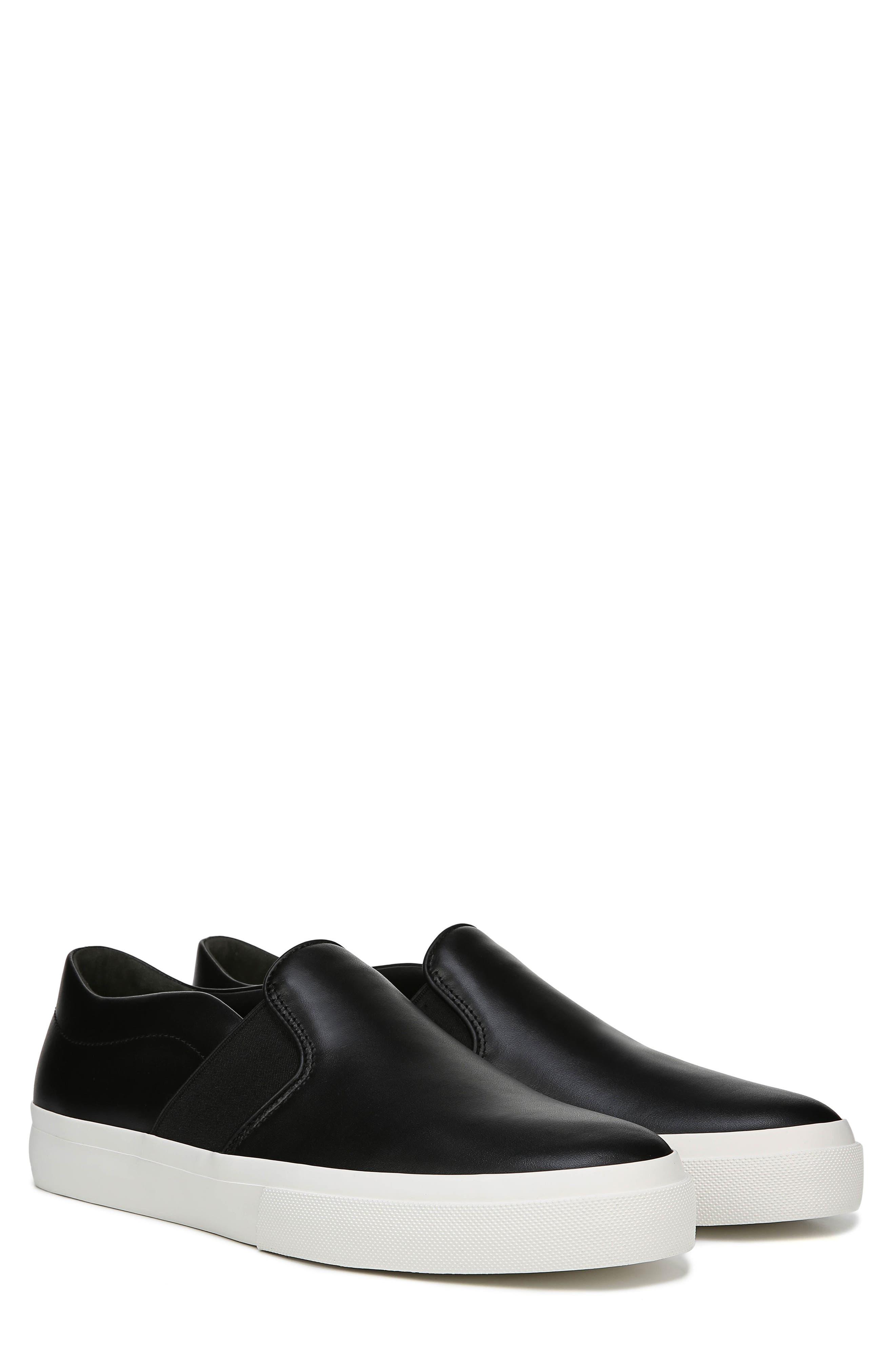 Fenton Slip-On  Sneaker,                             Alternate thumbnail 9, color,                             BLACK/ BLACK