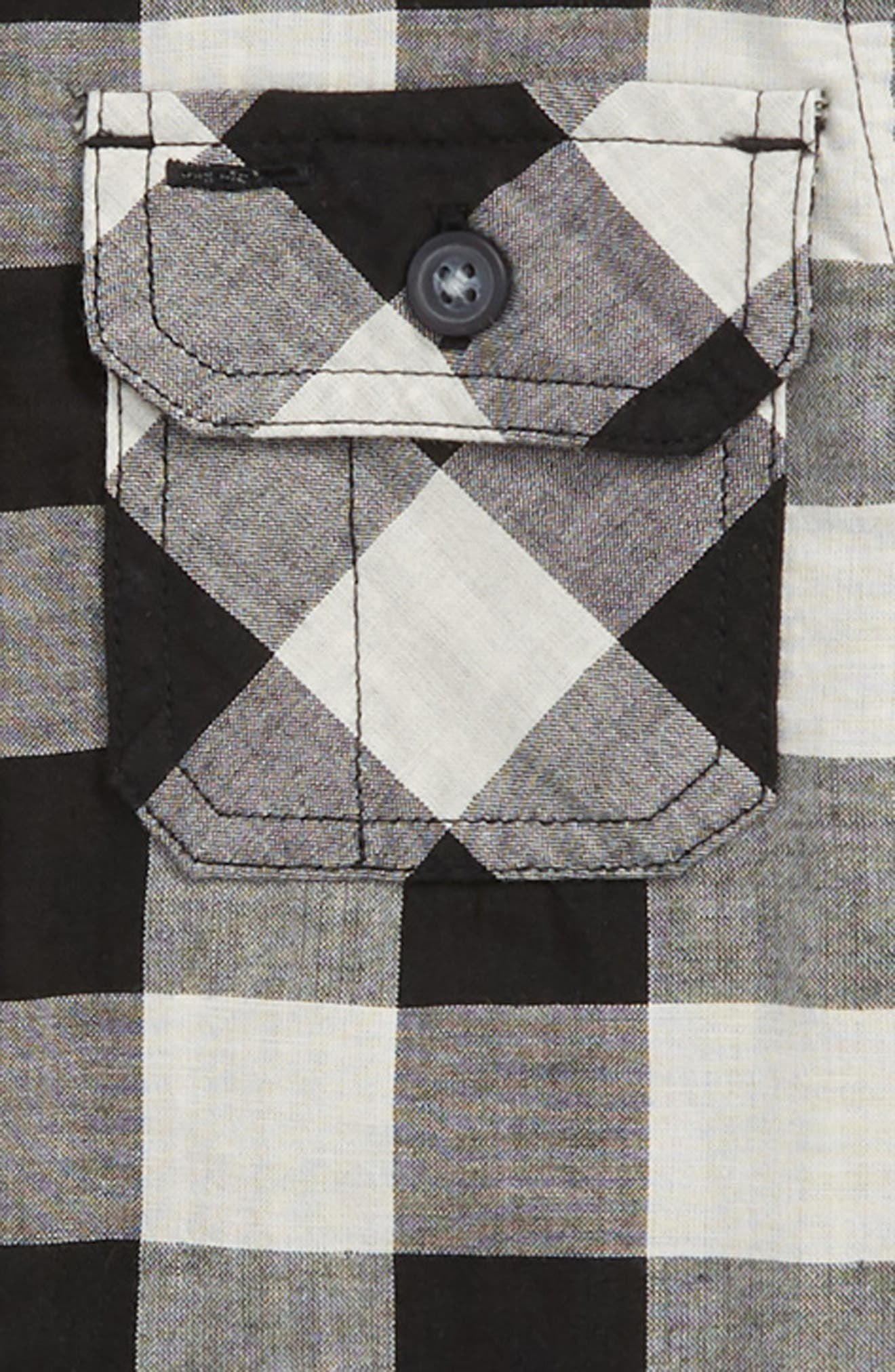 Double Weave Plaid Shirt,                             Alternate thumbnail 2, color,                             CHECKERED PLAID