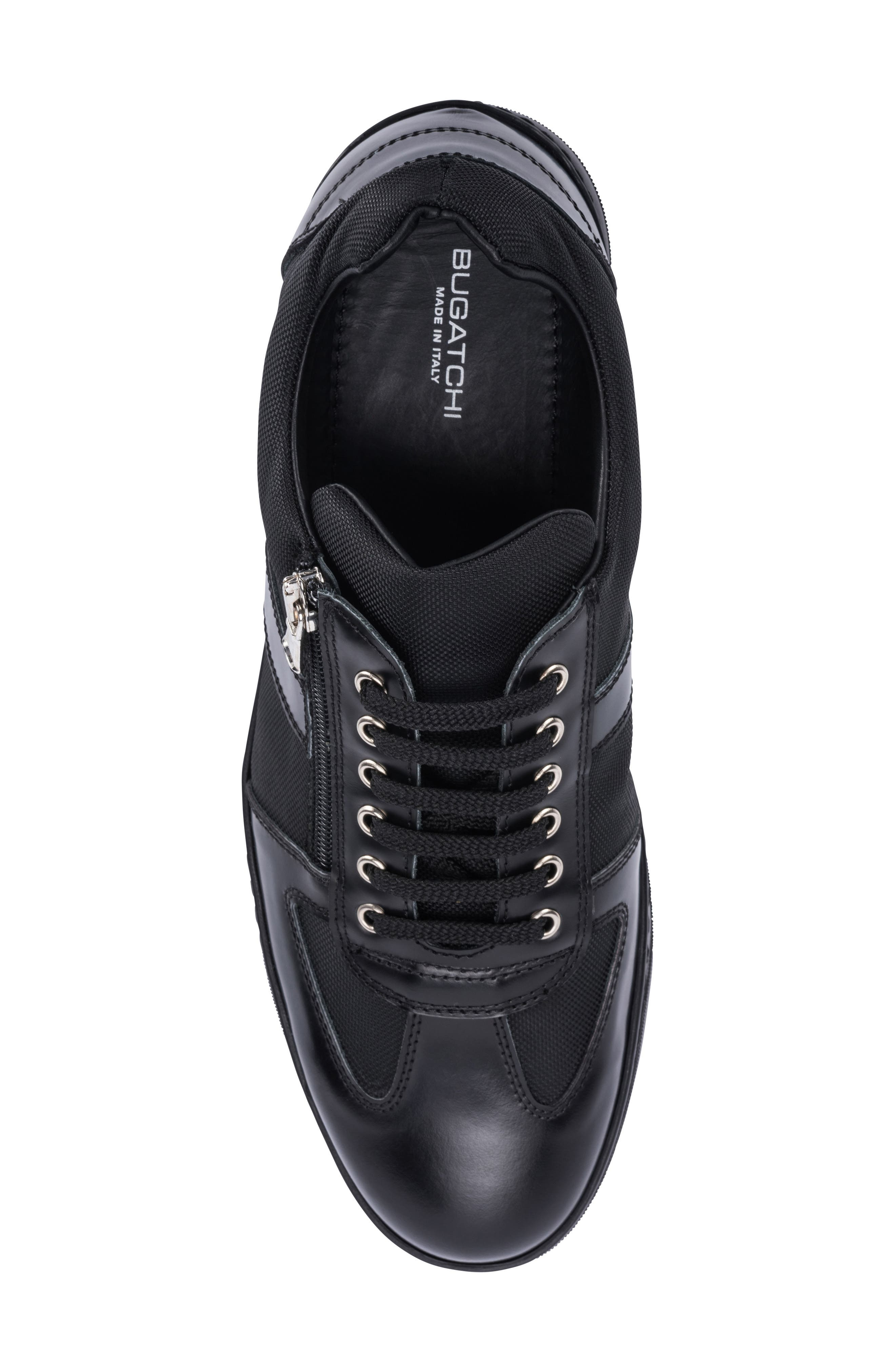 Paris Sneaker,                             Alternate thumbnail 5, color,                             BLACK