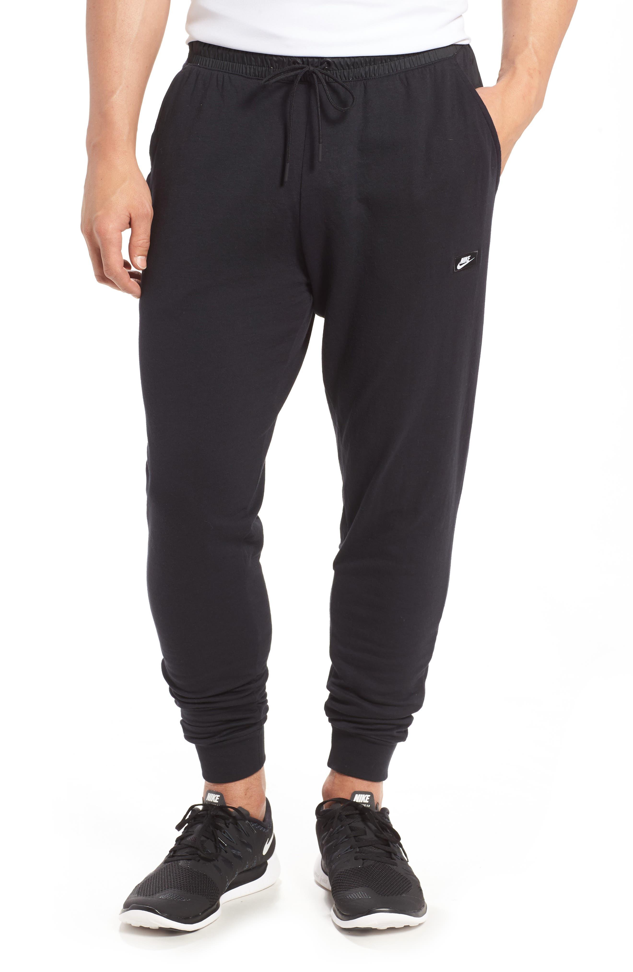 Modern Jogger Pants,                             Main thumbnail 1, color,                             BLACK/ BLACK