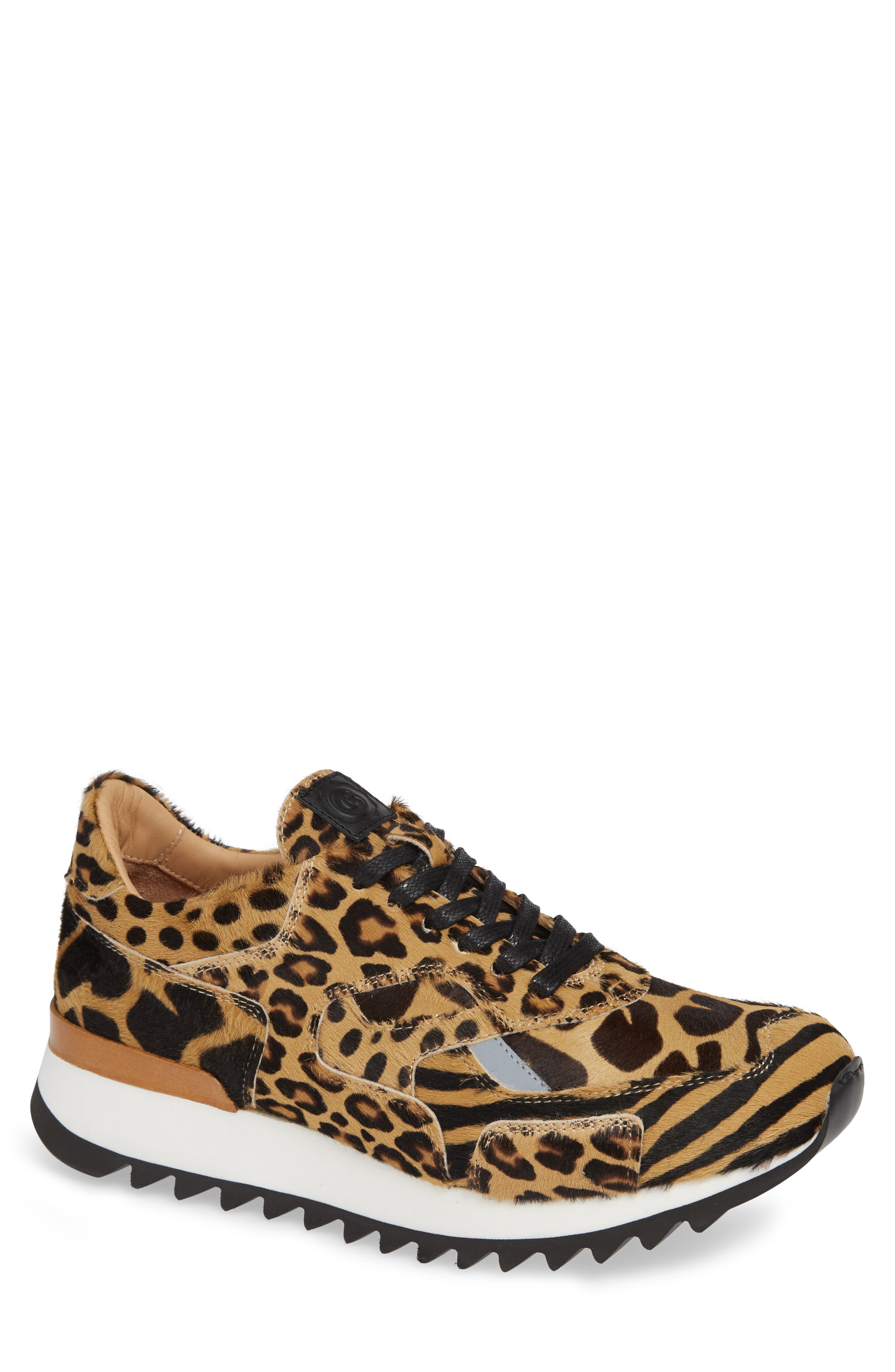 Nick Wooster x GREATS Pronto Genuine Calf Hair Sneaker,                             Main thumbnail 1, color,                             209