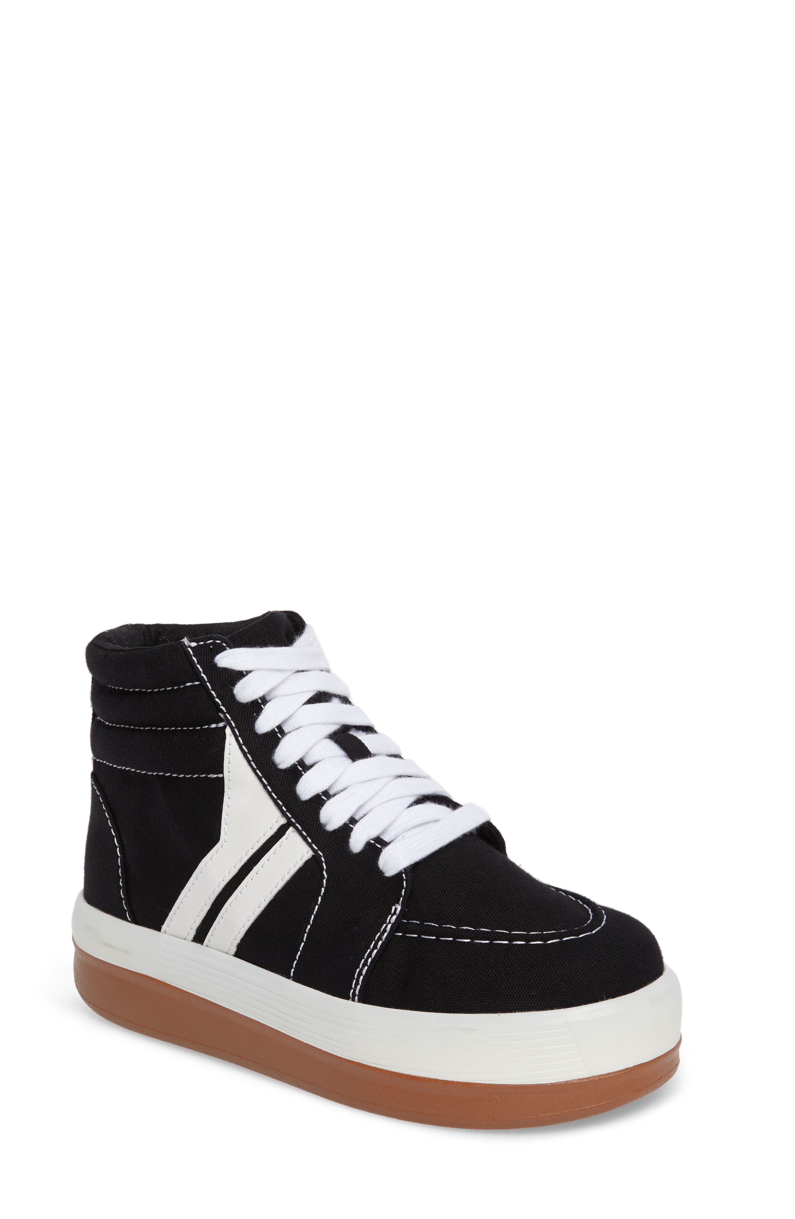 Grind High Top Sneaker,                             Main thumbnail 1, color,                             001
