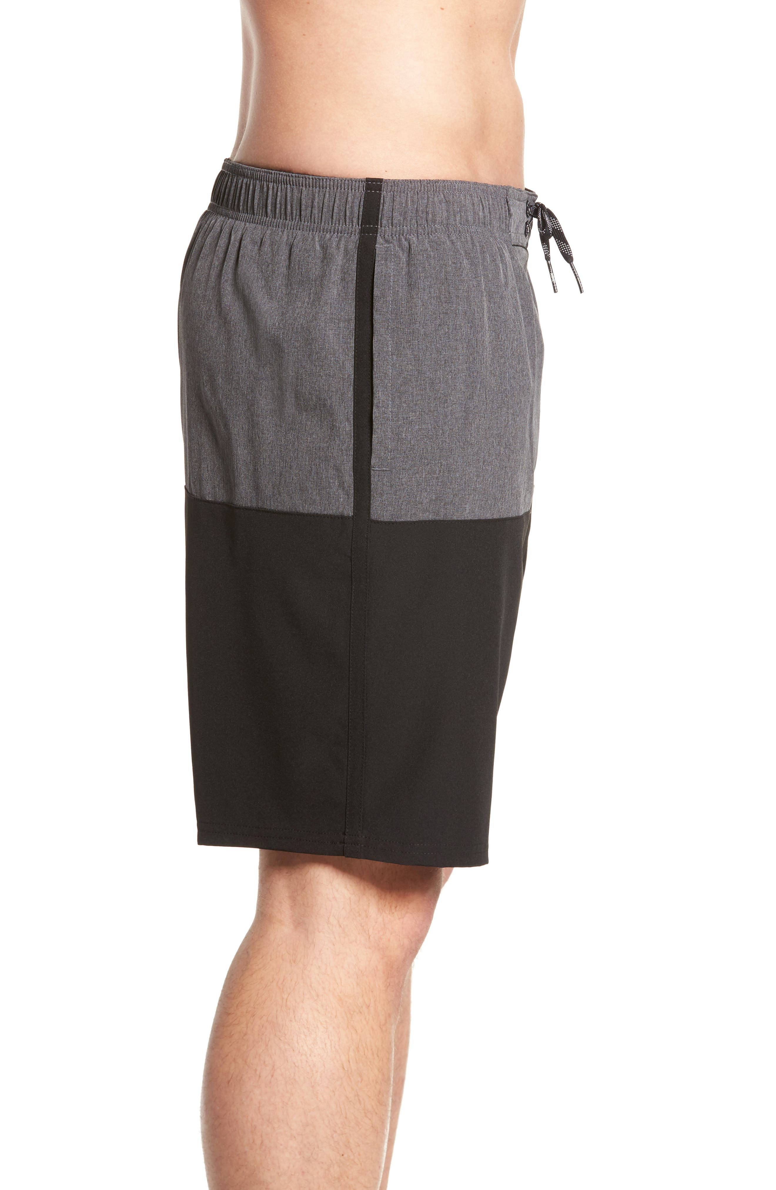 Split Board Shorts,                             Alternate thumbnail 3, color,                             001