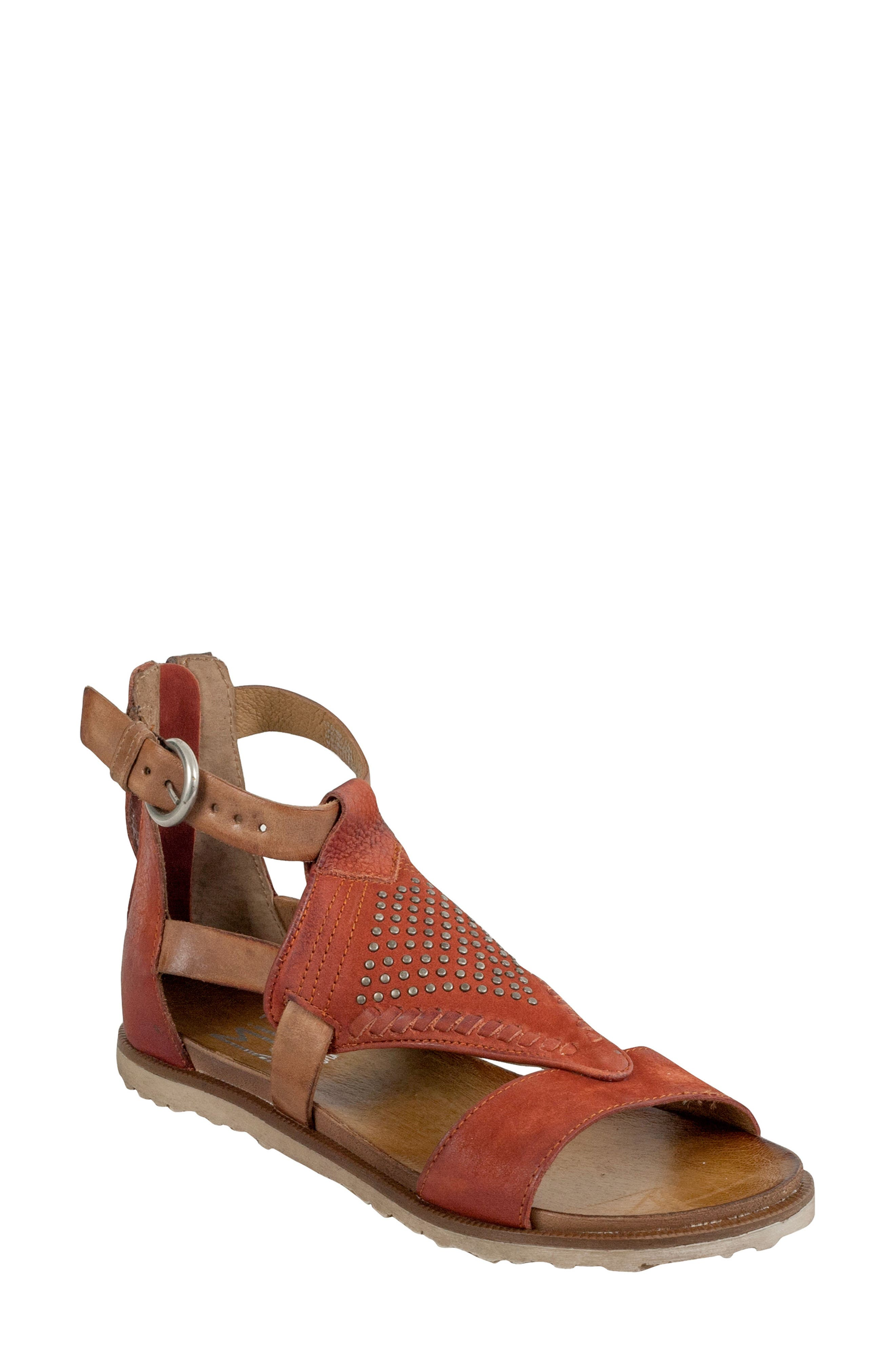 Tessa Studded Diamond Sandal,                             Main thumbnail 2, color,
