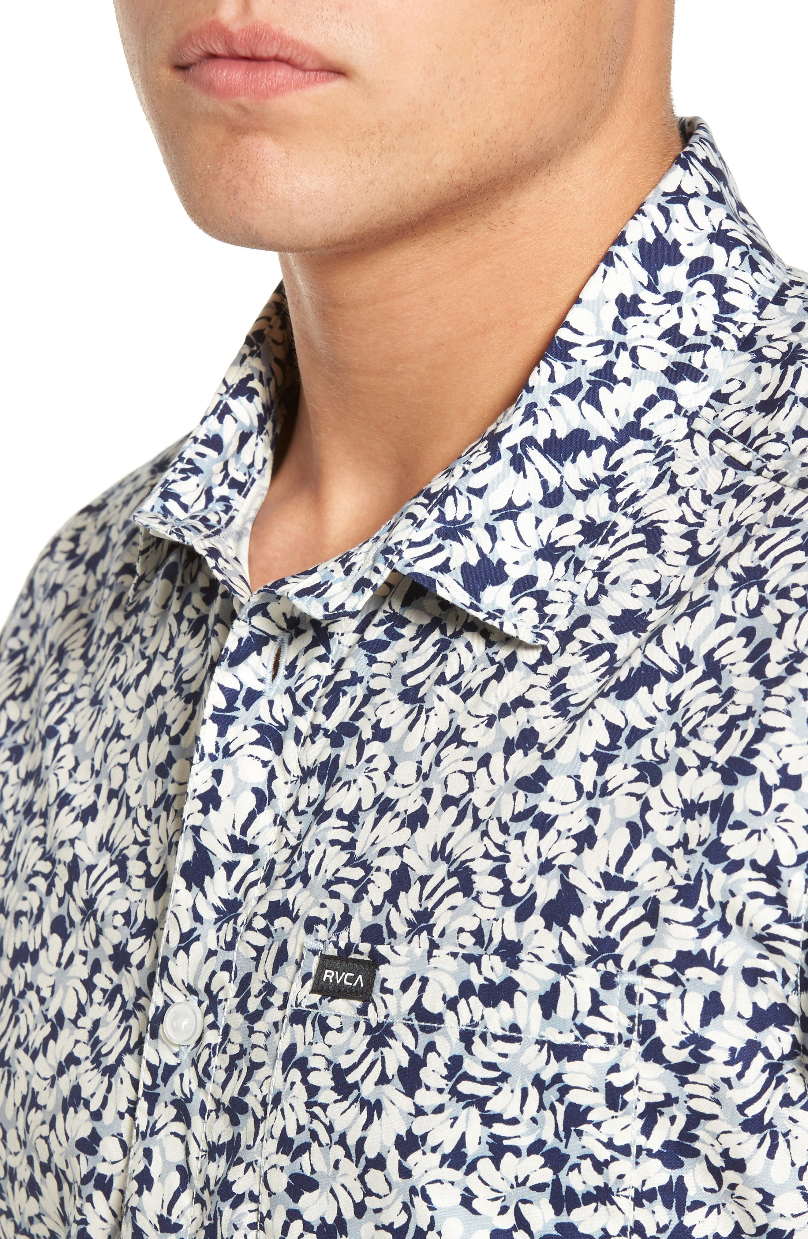 Brong Short Sleeve Shirt,                             Alternate thumbnail 4, color,                             020