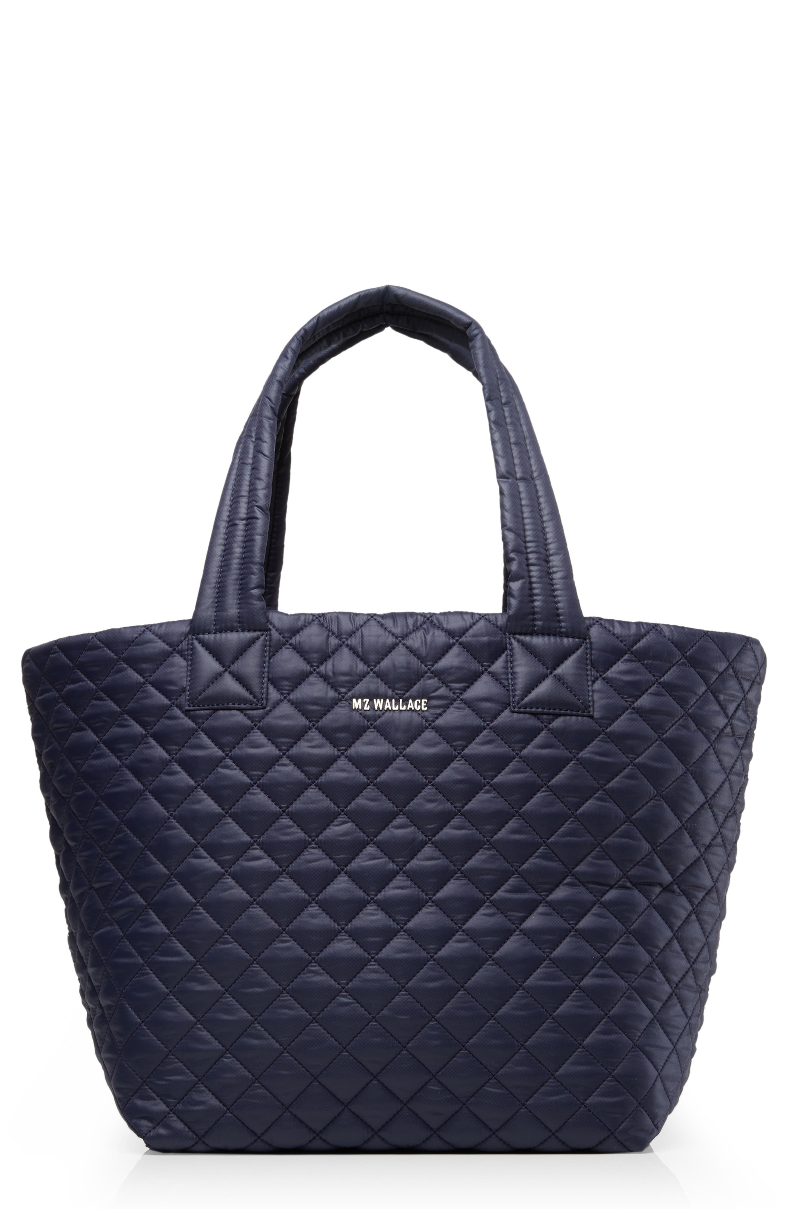 Mz Wallace Totes LARGE METRO TOTE - BLUE