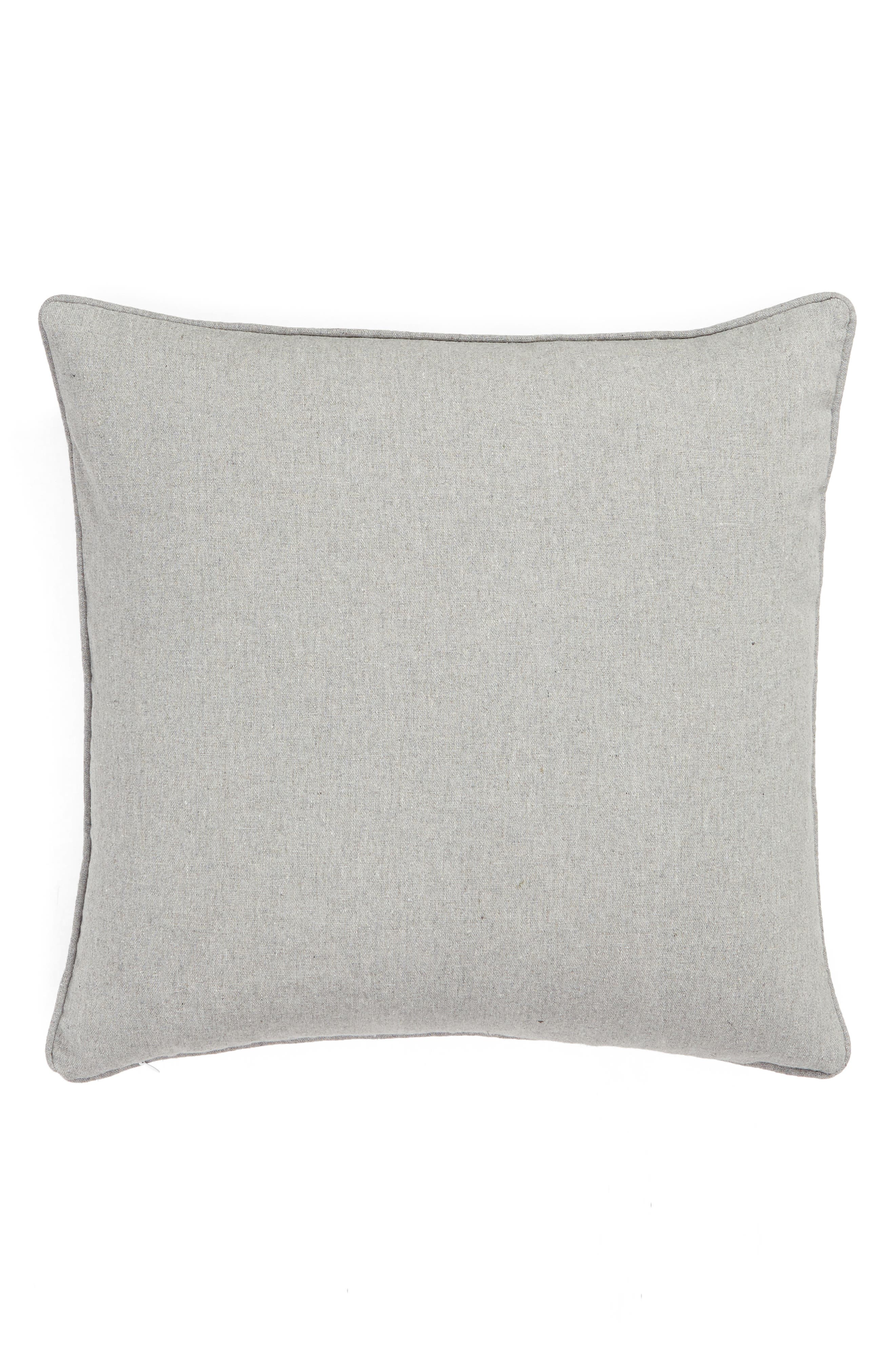 Eyes for You Accent Pillow,                             Alternate thumbnail 2, color,                             GREY