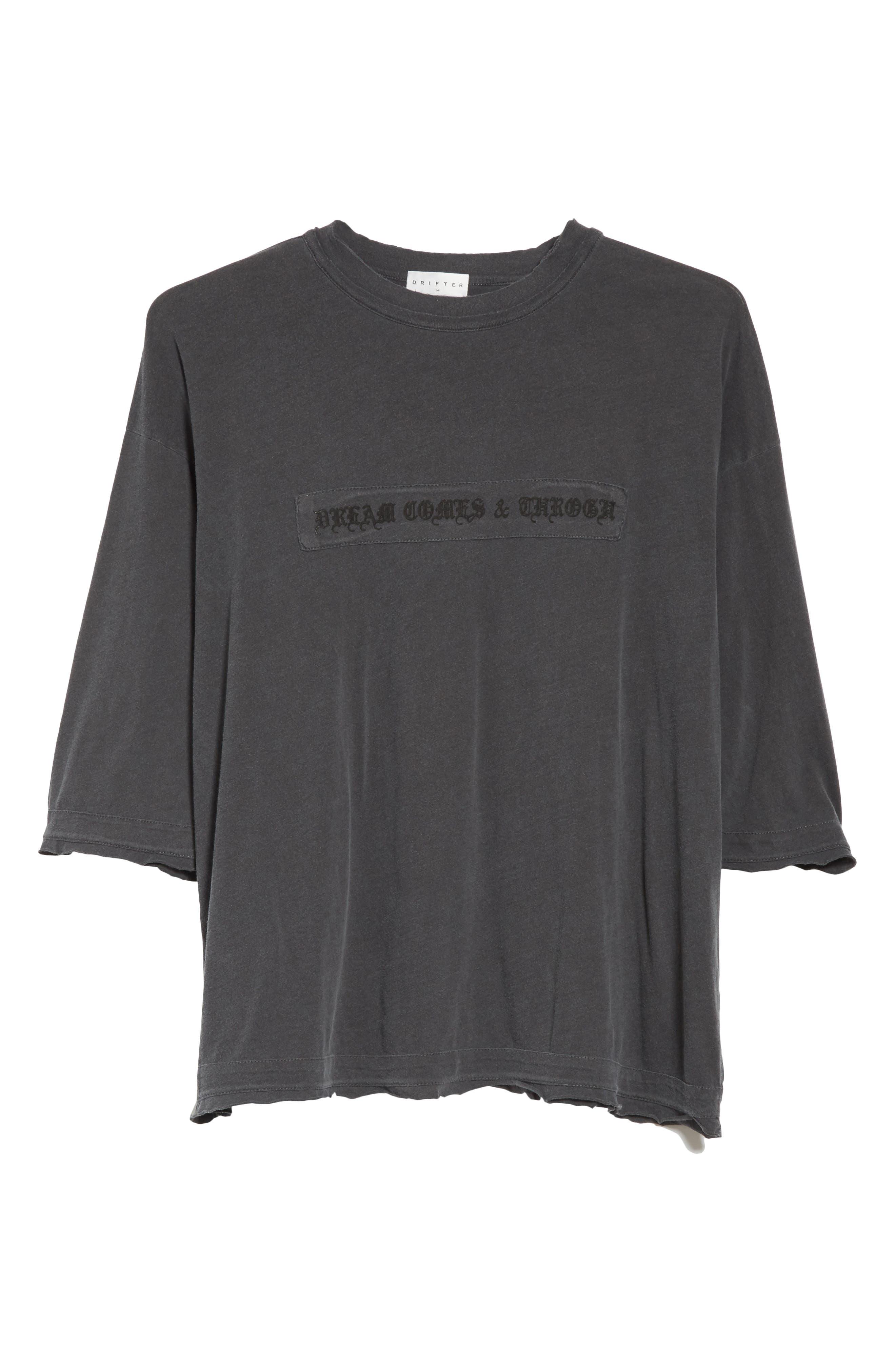 Eshu Oversize T-Shirt,                             Alternate thumbnail 6, color,                             001