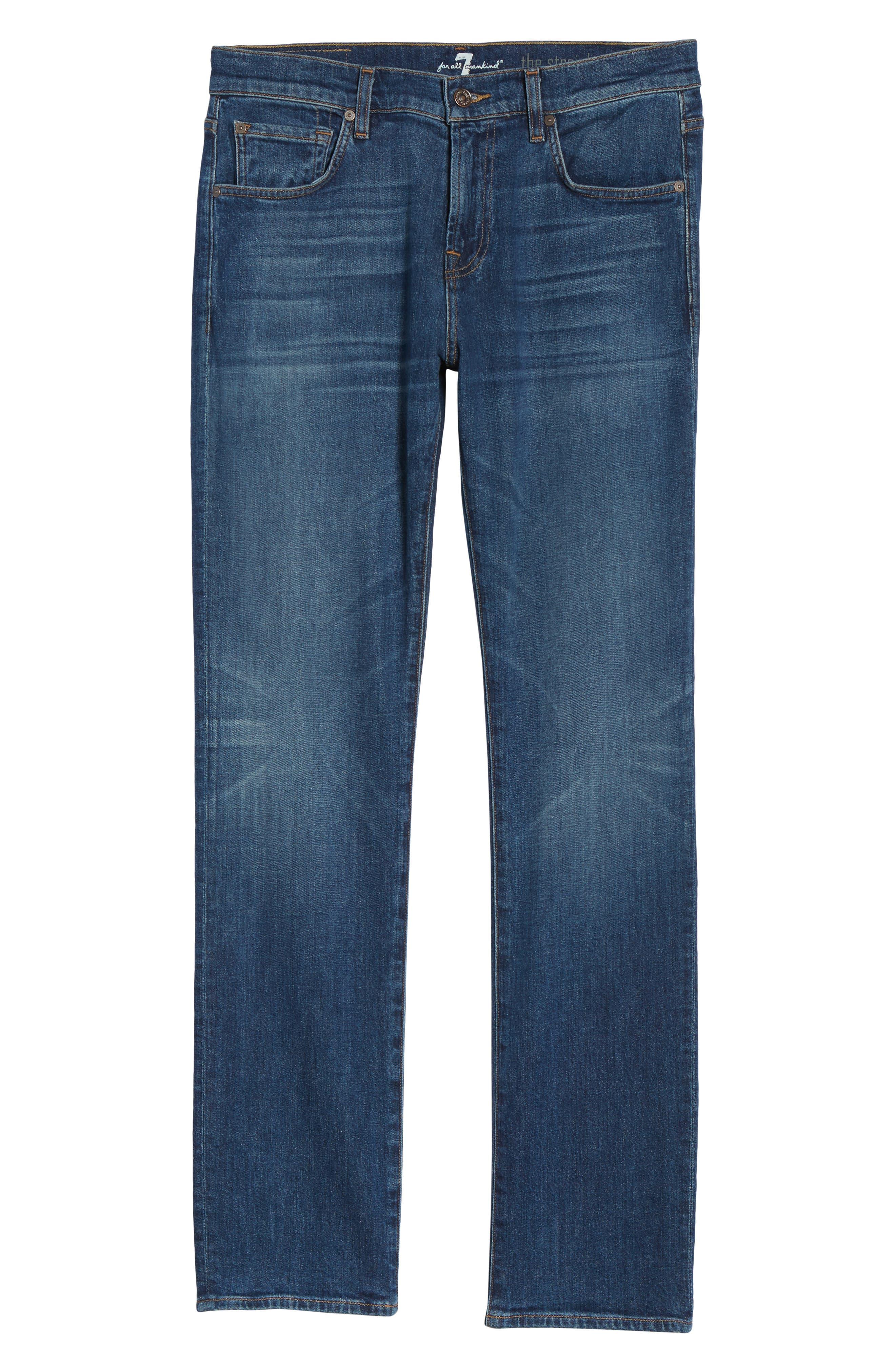 The Straight Slim Straight Leg Jeans,                             Alternate thumbnail 6, color,