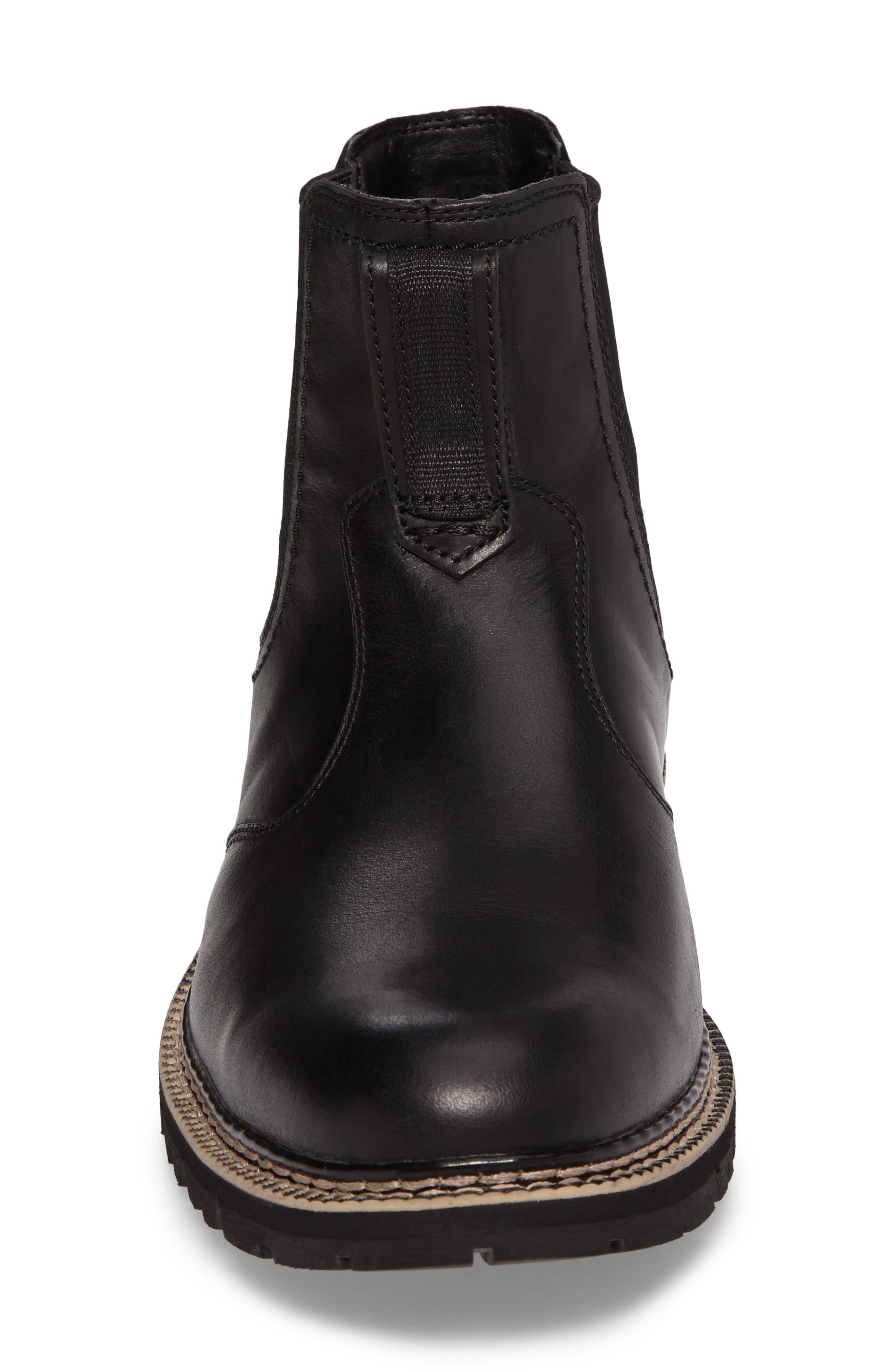 Britton Hill Chelsea Boot,                             Alternate thumbnail 4, color,                             001