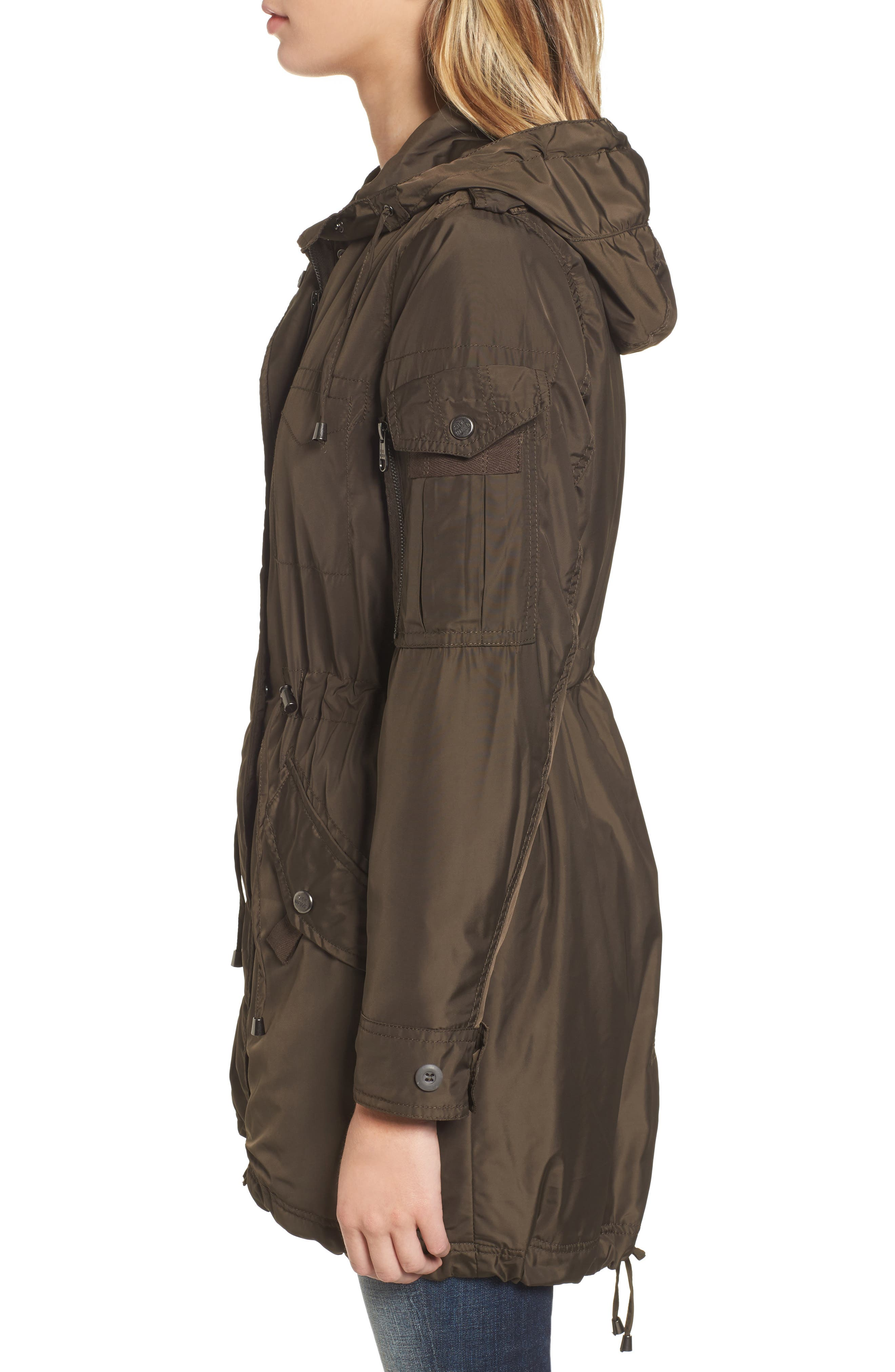 Hooded Water Repellent Anorak,                             Alternate thumbnail 6, color,